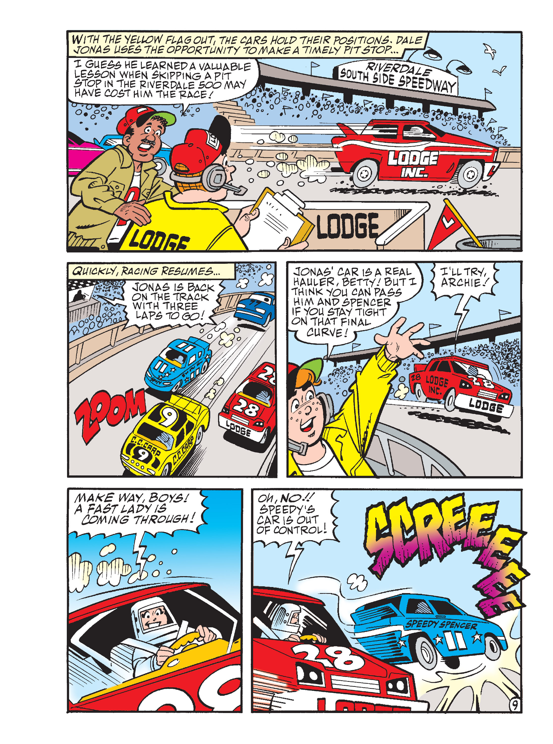 Read online Archie's Funhouse Double Digest comic -  Issue #17 - 101