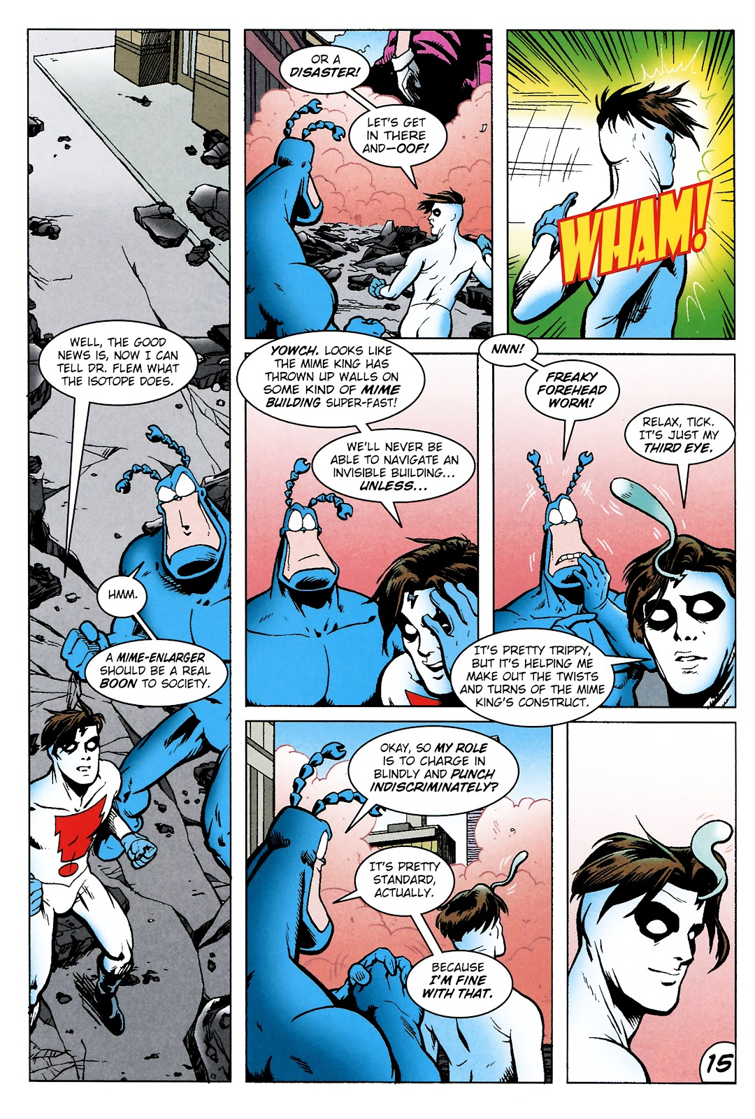 Read online The Tick comic -  Issue #101 - 18