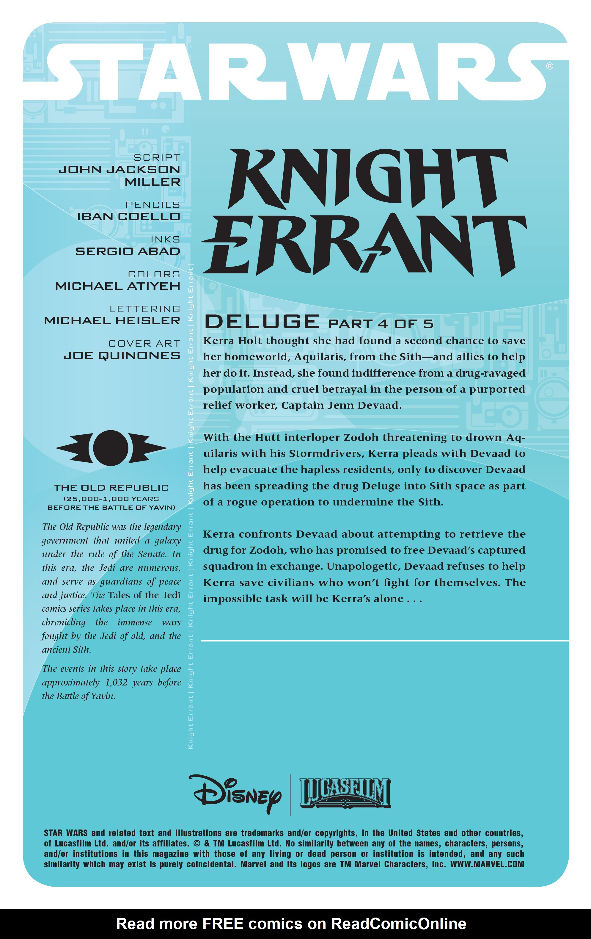 Read online Star Wars: Knight Errant - Deluge comic -  Issue #4 - 2