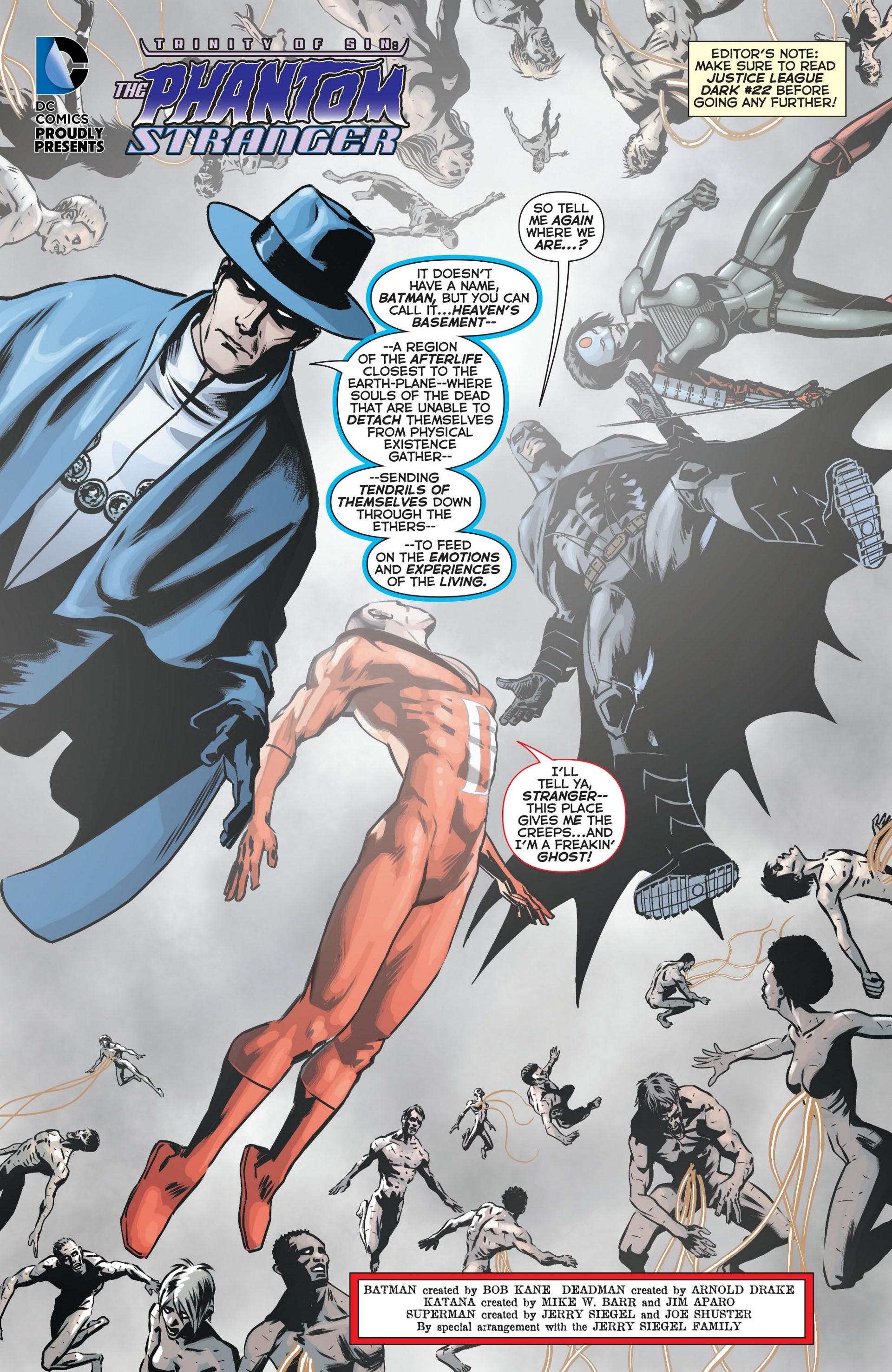 Read online Trinity of Sin: The Phantom Stranger comic -  Issue #11 - 2