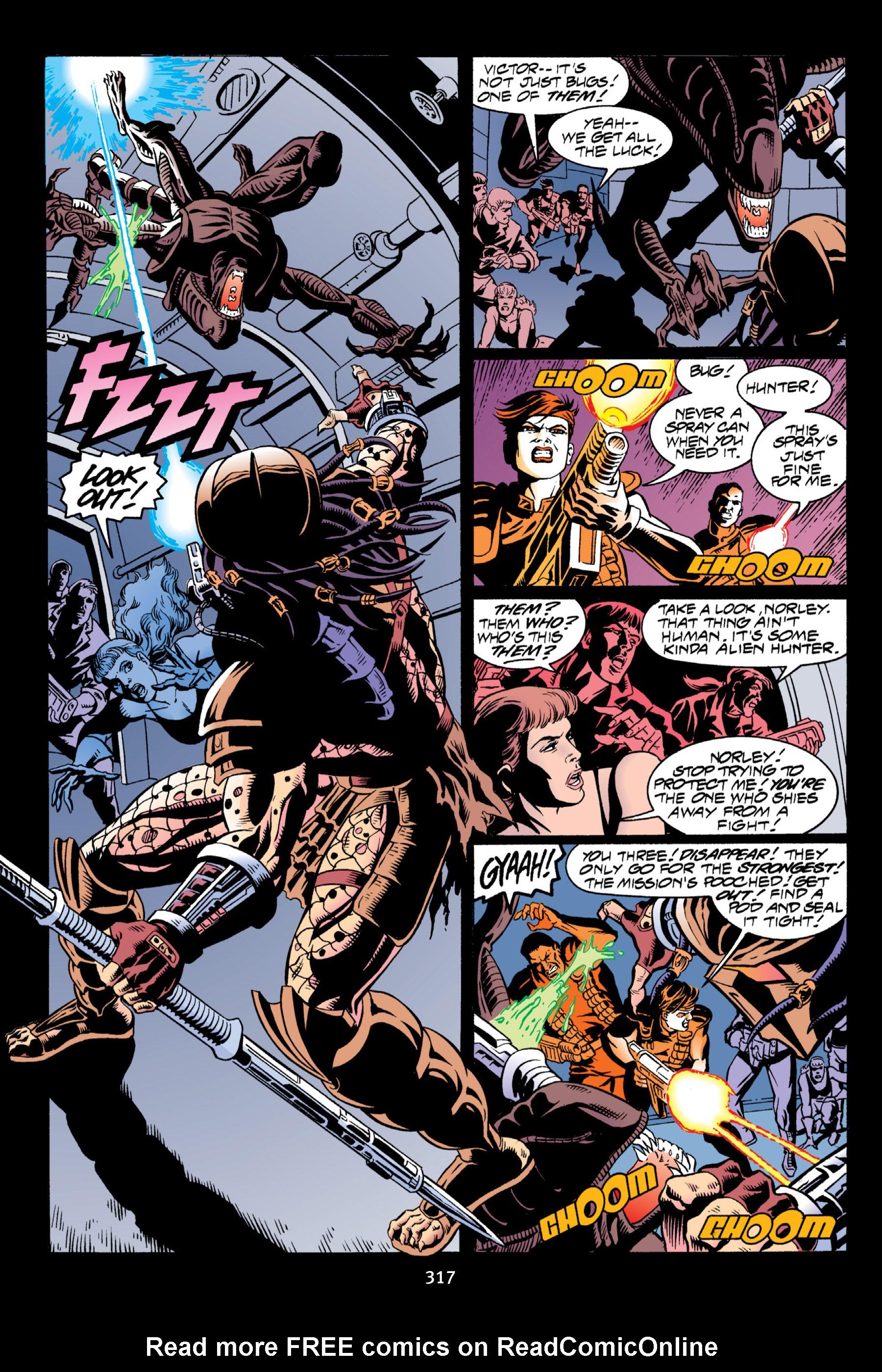 Read online Aliens vs. Predator Omnibus comic -  Issue # _TPB 2 Part 3 - 92