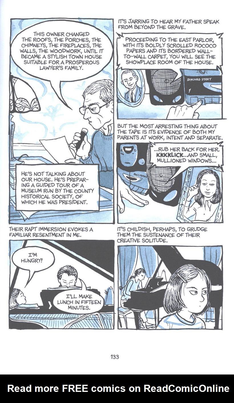 Read online Fun Home: A Family Tragicomic comic -  Issue # TPB - 139
