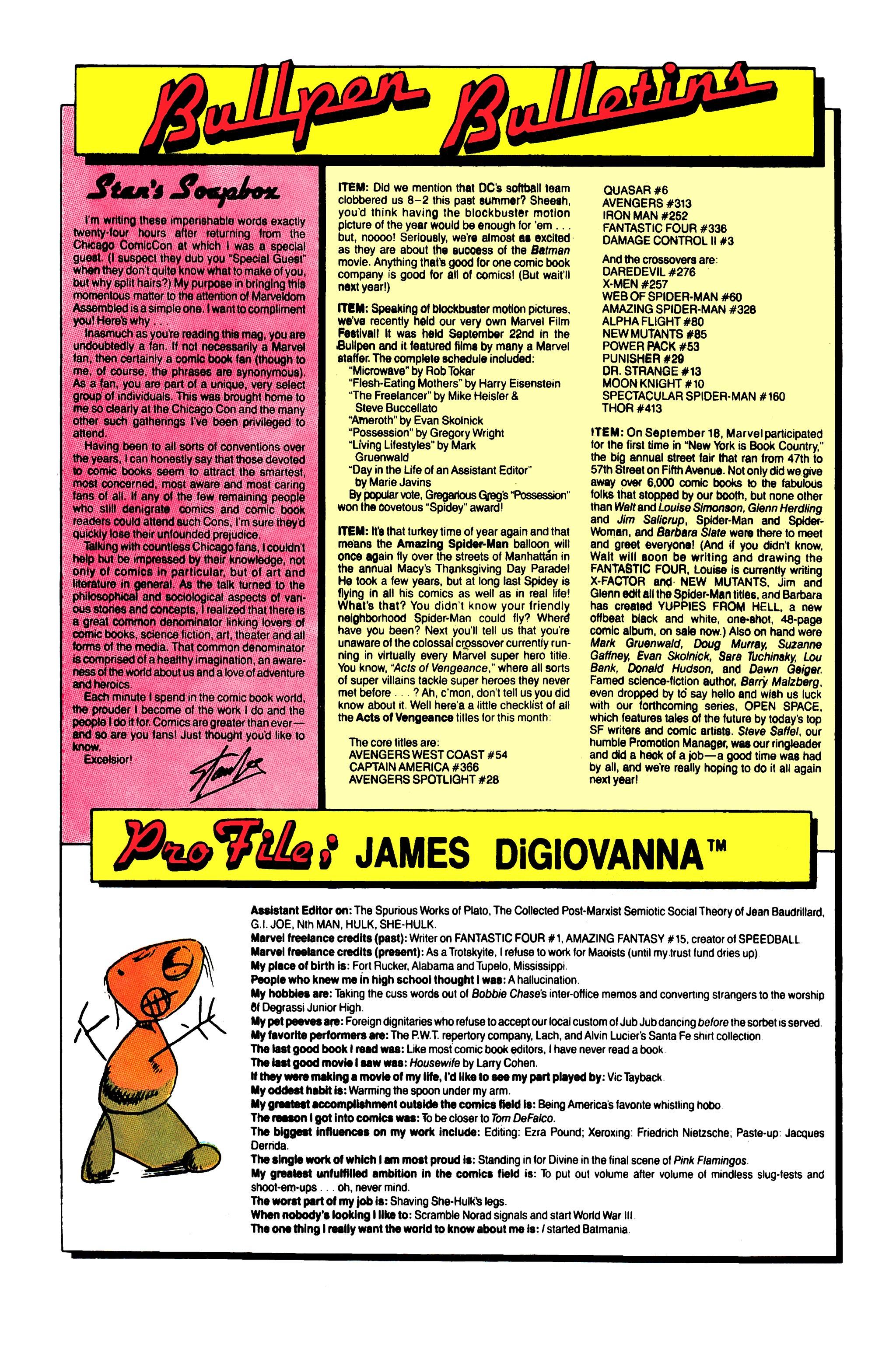 Read online Uncanny X-Men (1963) comic -  Issue #258 - 21