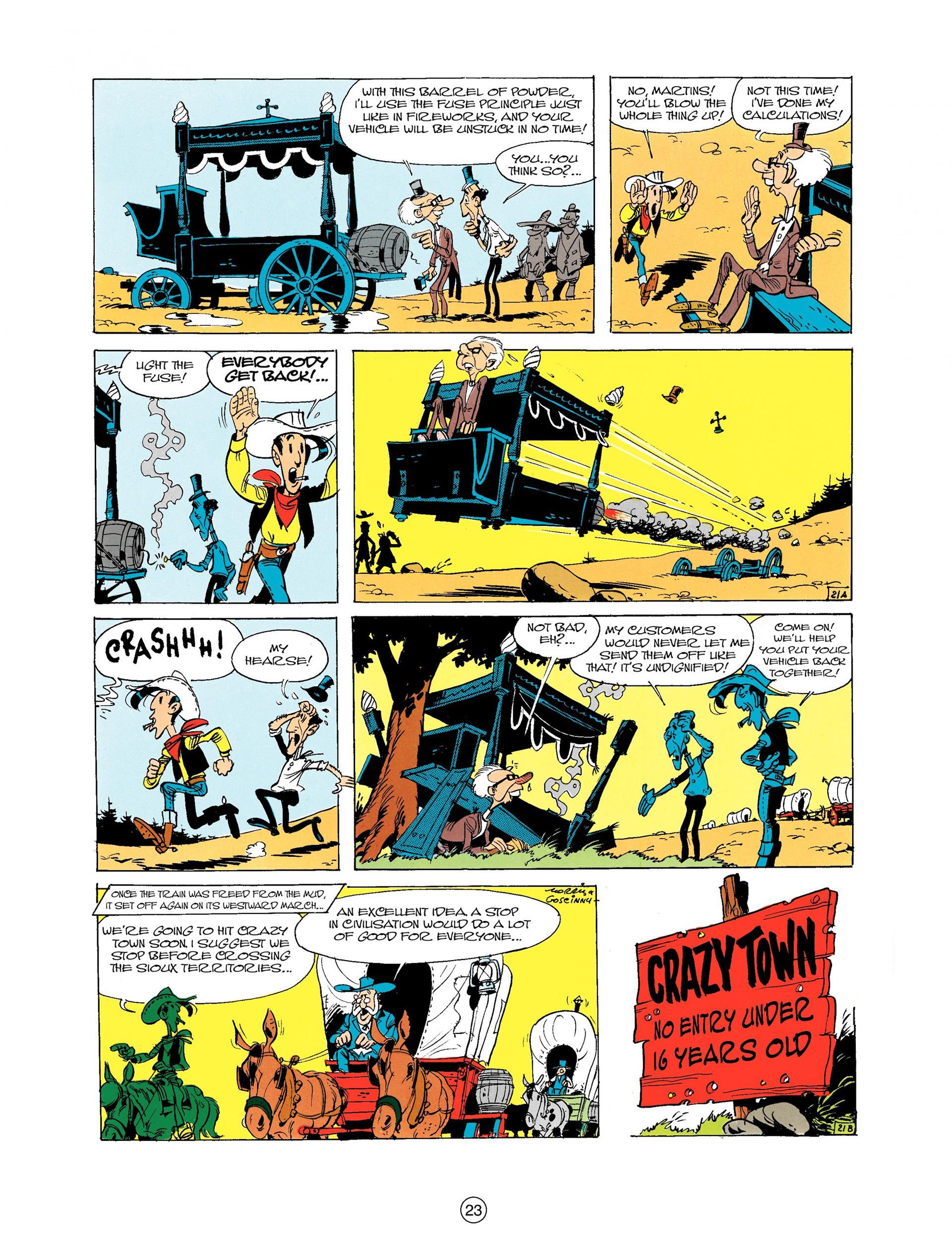 Read online A Lucky Luke Adventure comic -  Issue #9 - 23
