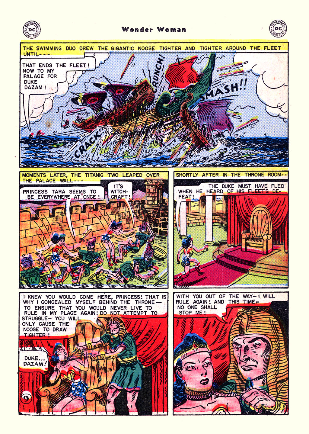 Read online Wonder Woman (1942) comic -  Issue #59 - 11