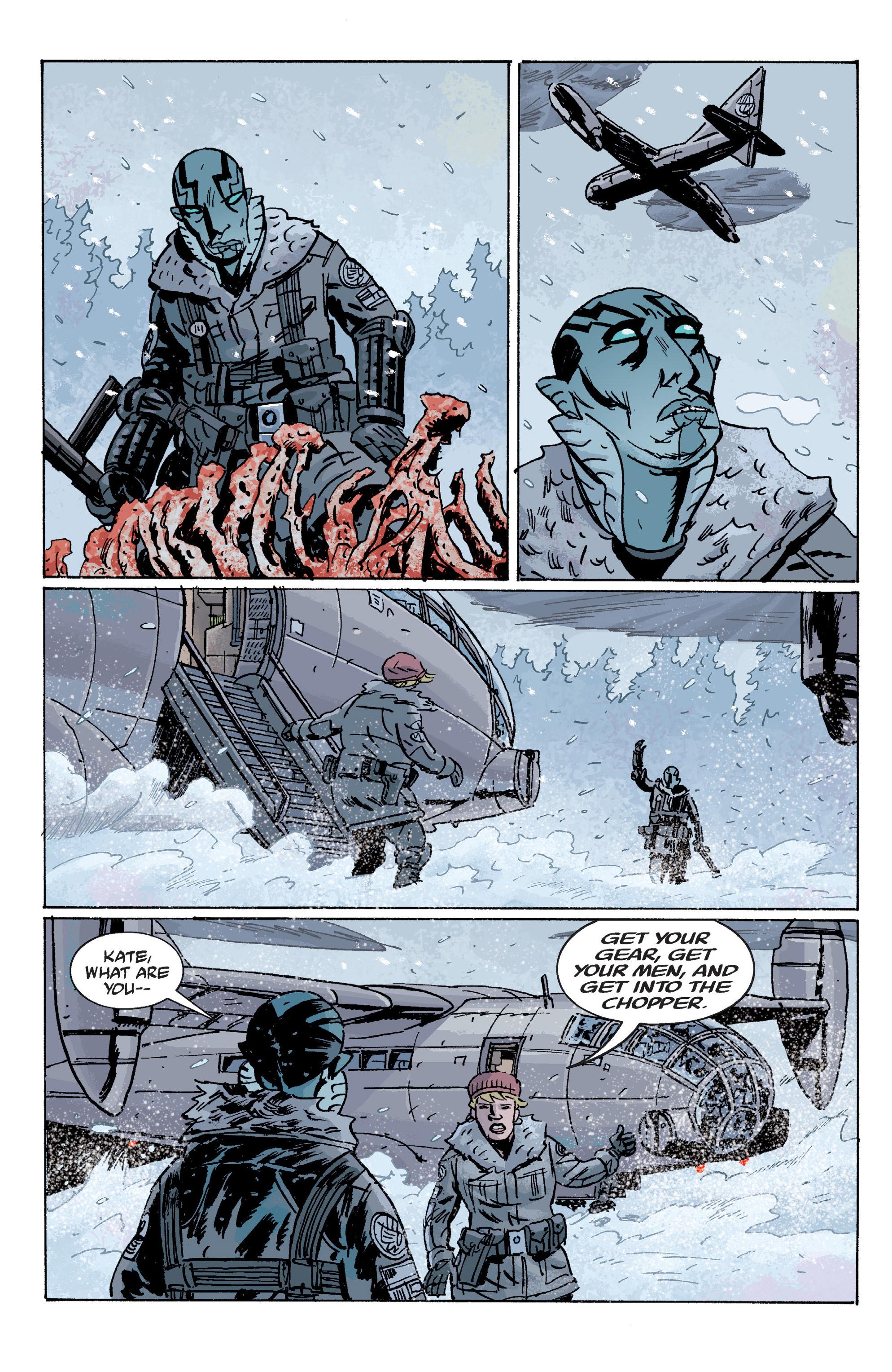 Read online B.P.R.D. (2003) comic -  Issue # TPB 10 - 44