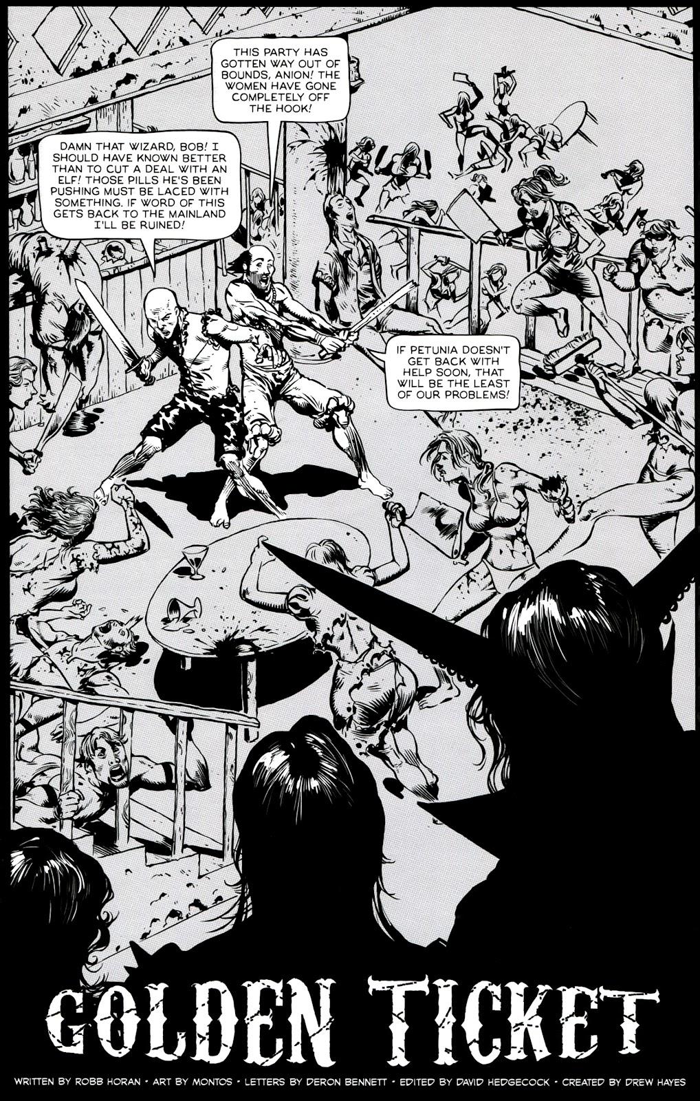Read online Poison Elves (2013) comic -  Issue #3 - 3