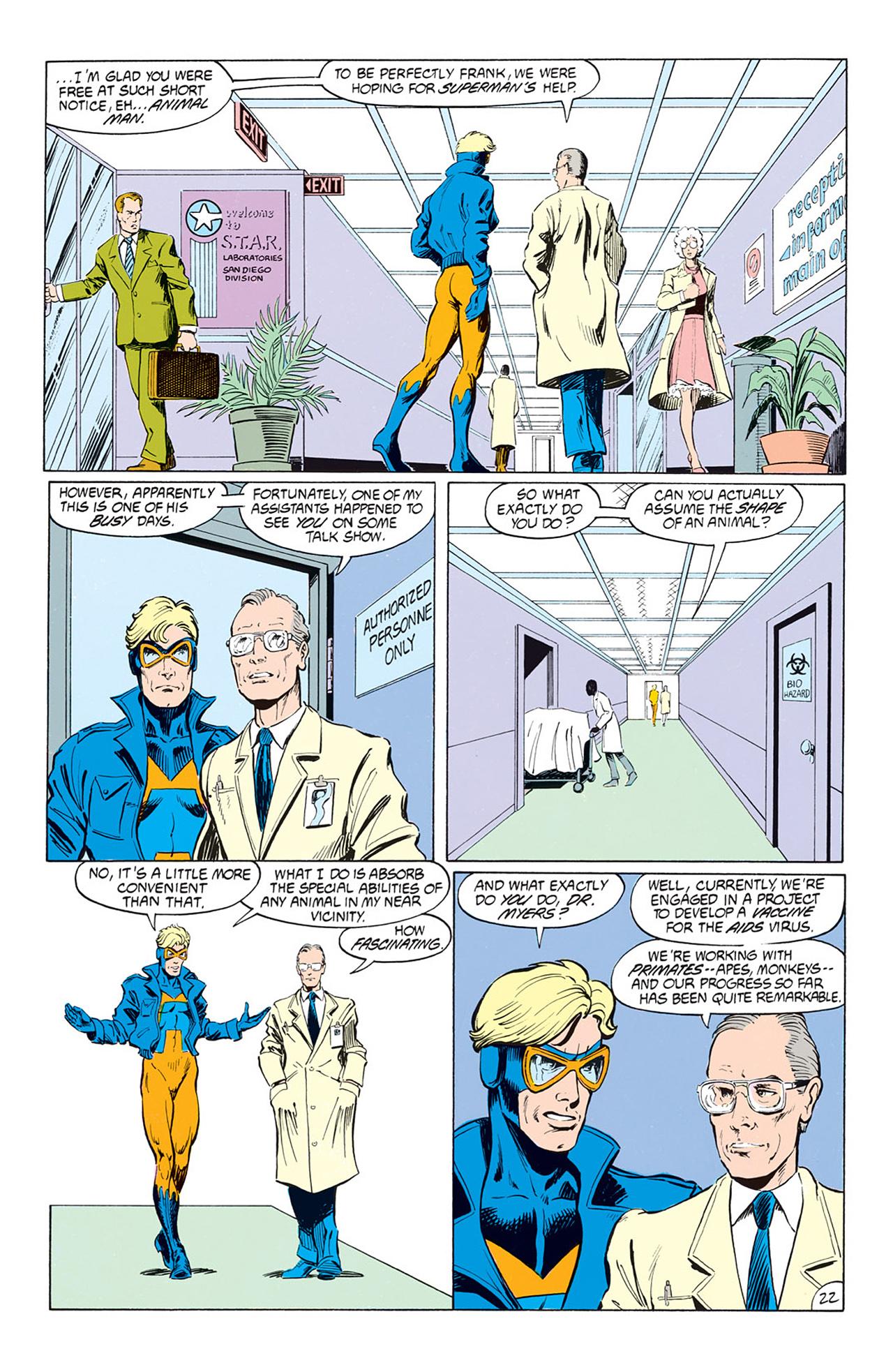 Read online Animal Man (1988) comic -  Issue #1 - 24