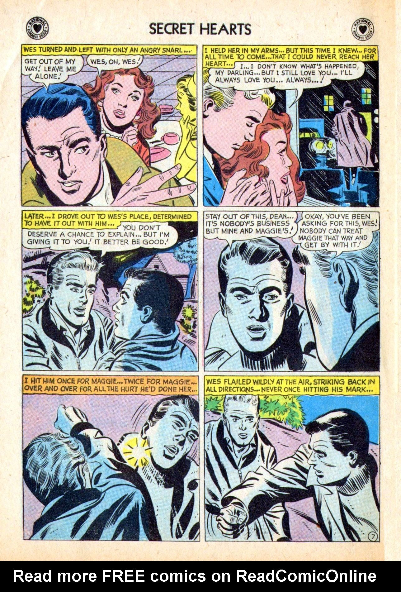 Read online Secret Hearts comic -  Issue #53 - 32
