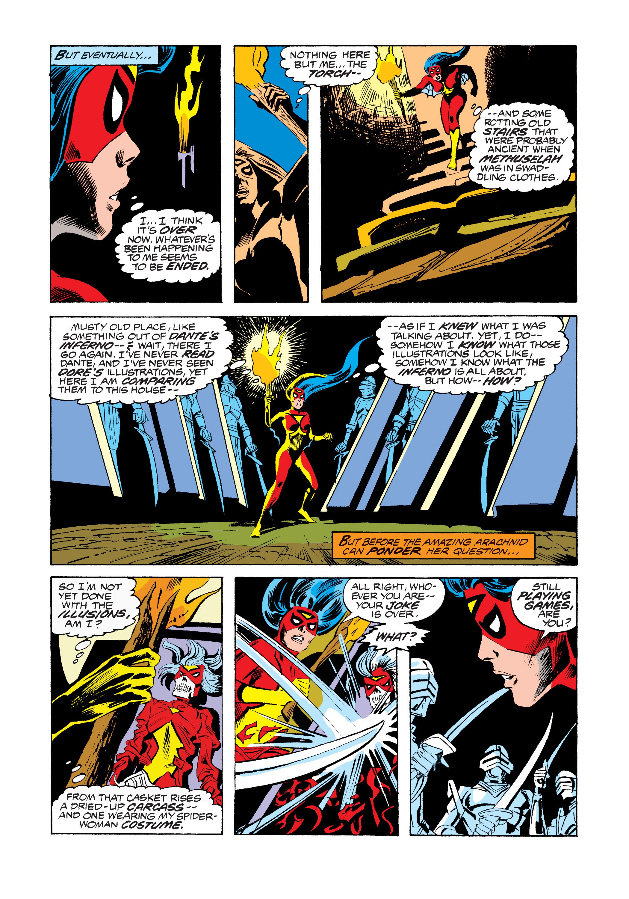 Marvel Masterworks: Spider-Woman TPB_(Part_3) Page 1