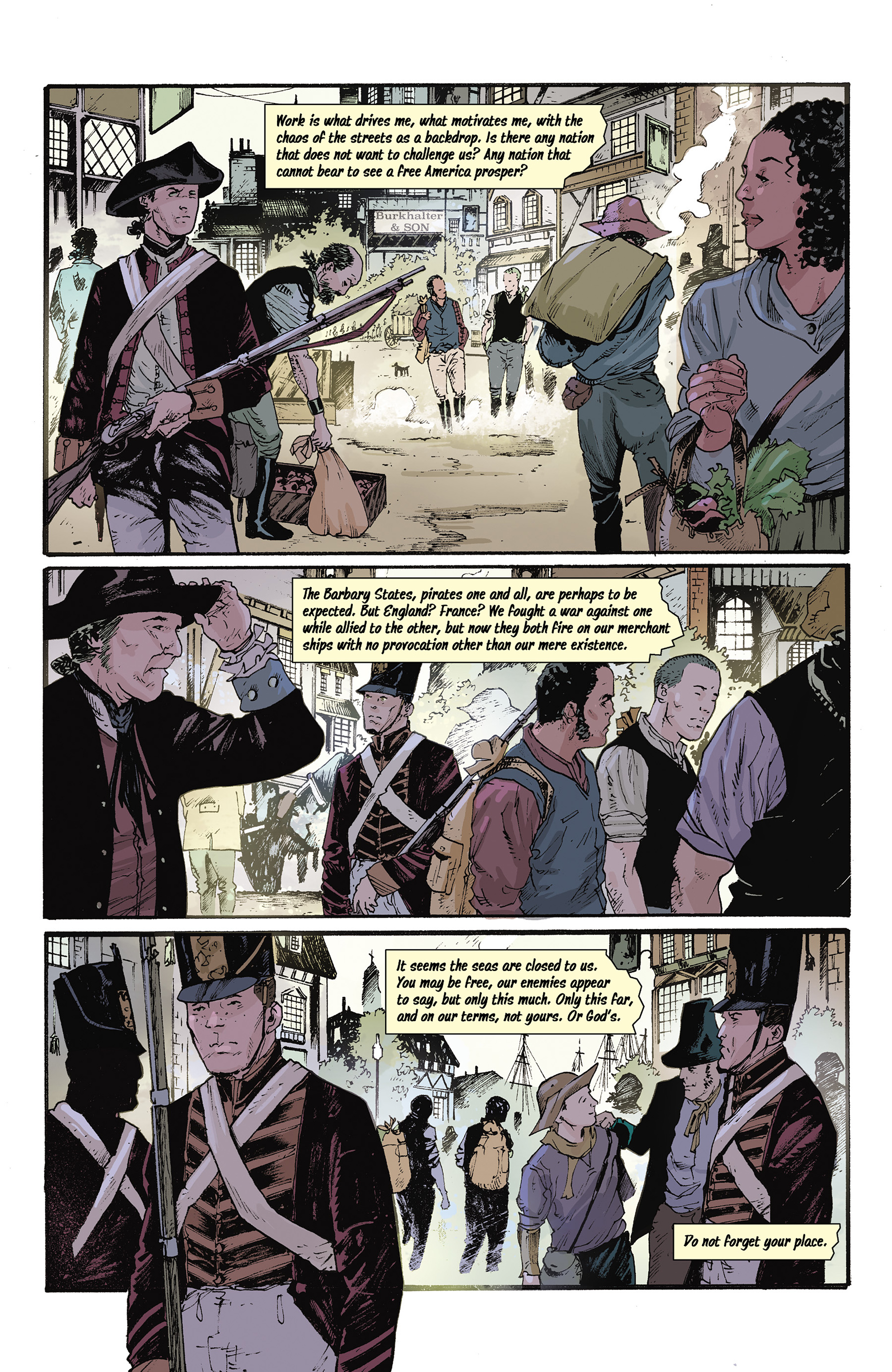 Read online Rebels: These Free and Independent States comic -  Issue #3 - 9