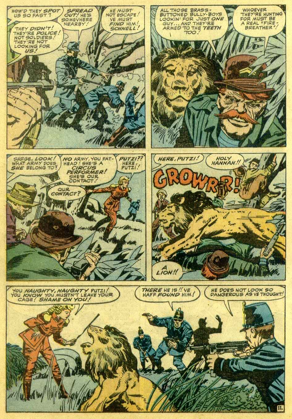 Read online Sgt. Fury comic -  Issue # _Annual 1 - 34