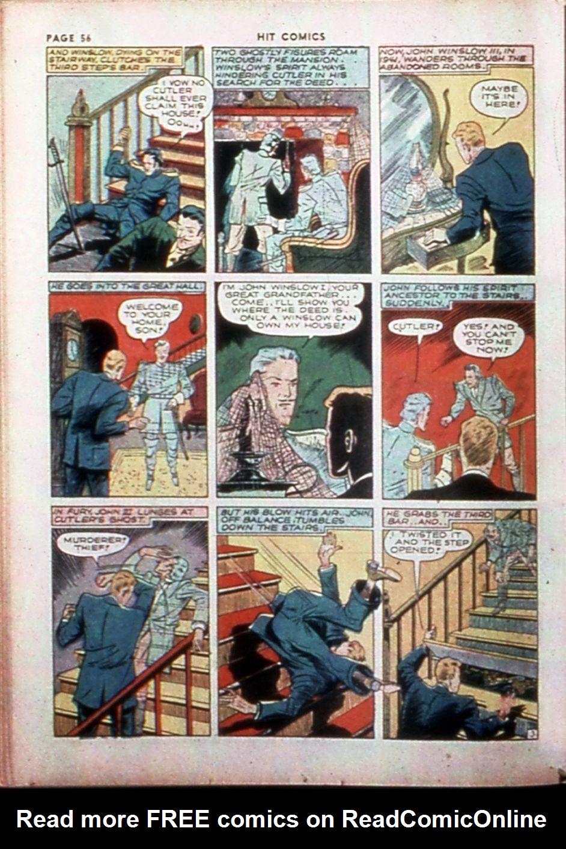 Read online Hit Comics comic -  Issue #14 - 58
