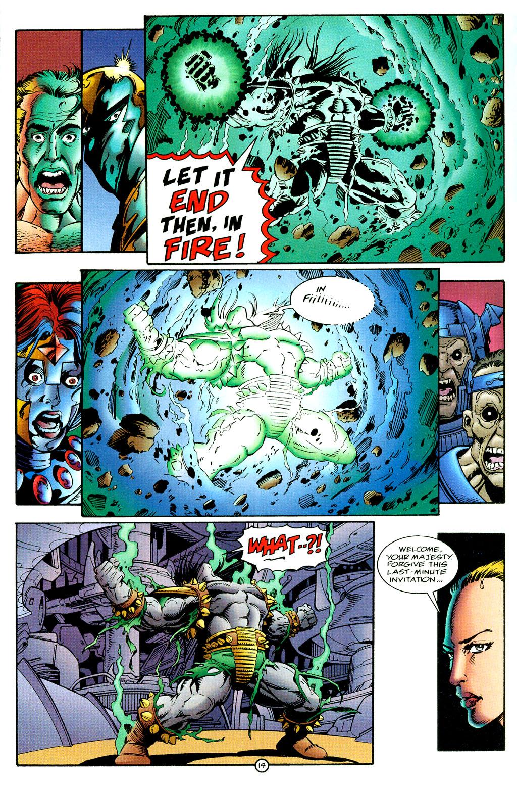 Read online UltraForce (1994) comic -  Issue #6 - 14