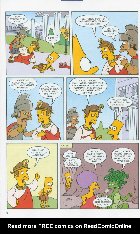 Read online Simpsons Comics comic -  Issue #70 - 19