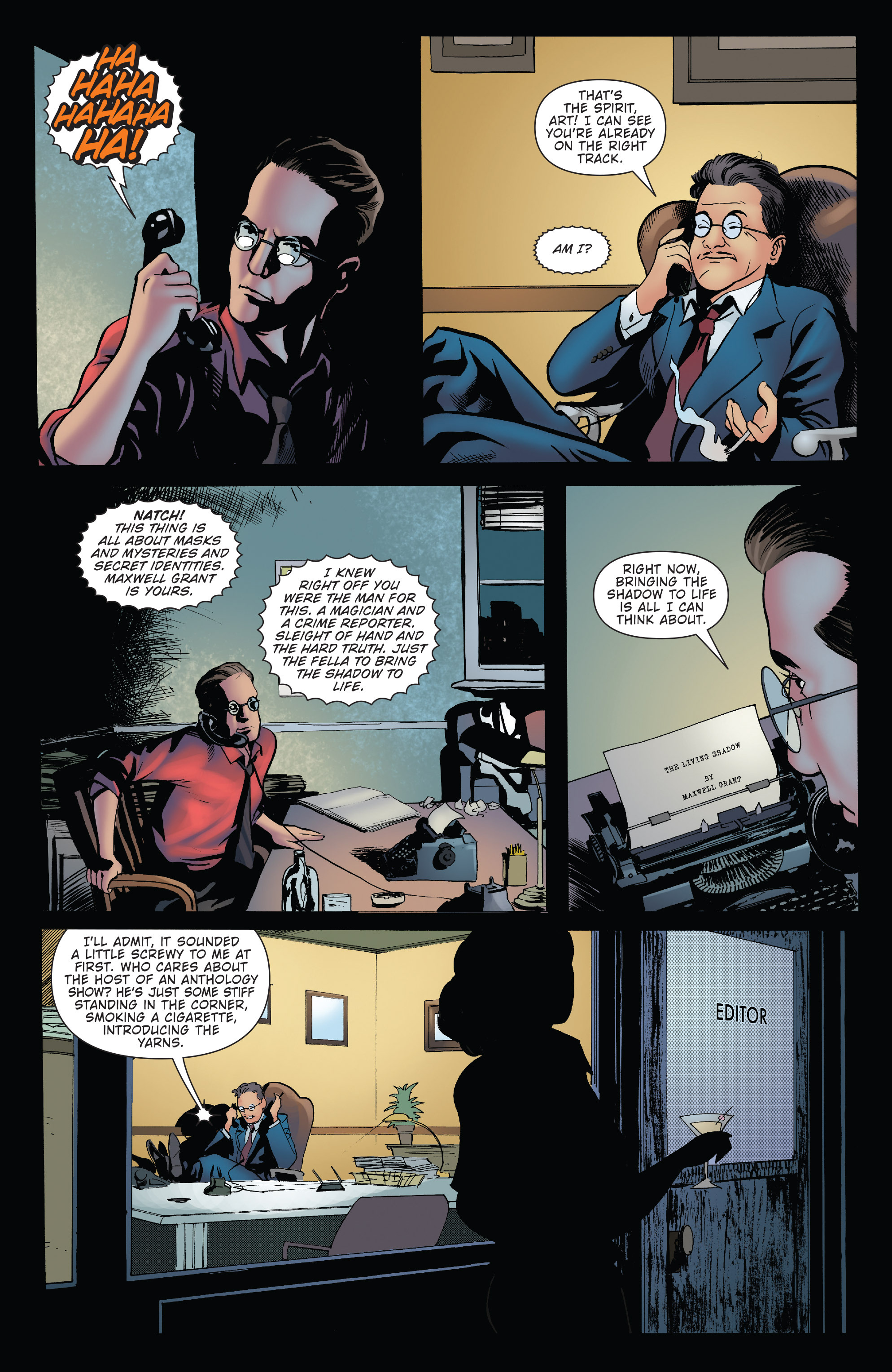 Read online Twilight Zone The Shadow comic -  Issue #3 - 4