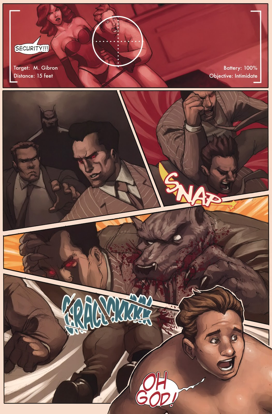 Read online Vescell comic -  Issue #1 - 16