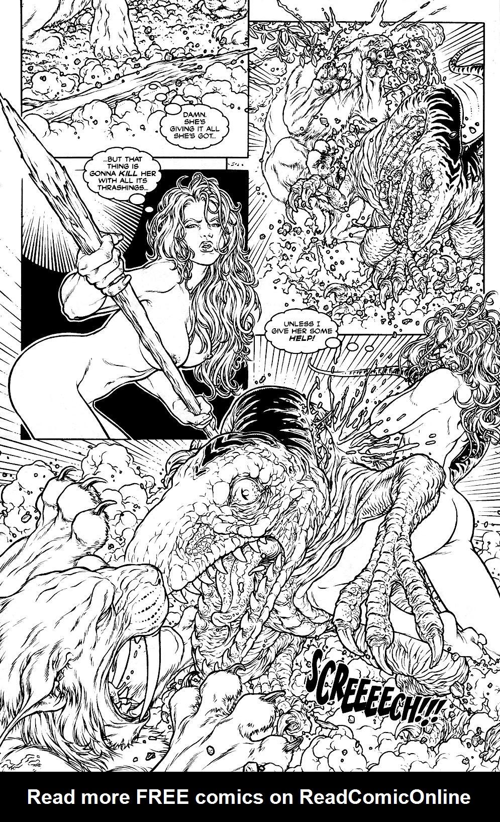 Read online Jungle Fantasy (2002) comic -  Issue #1 - 9