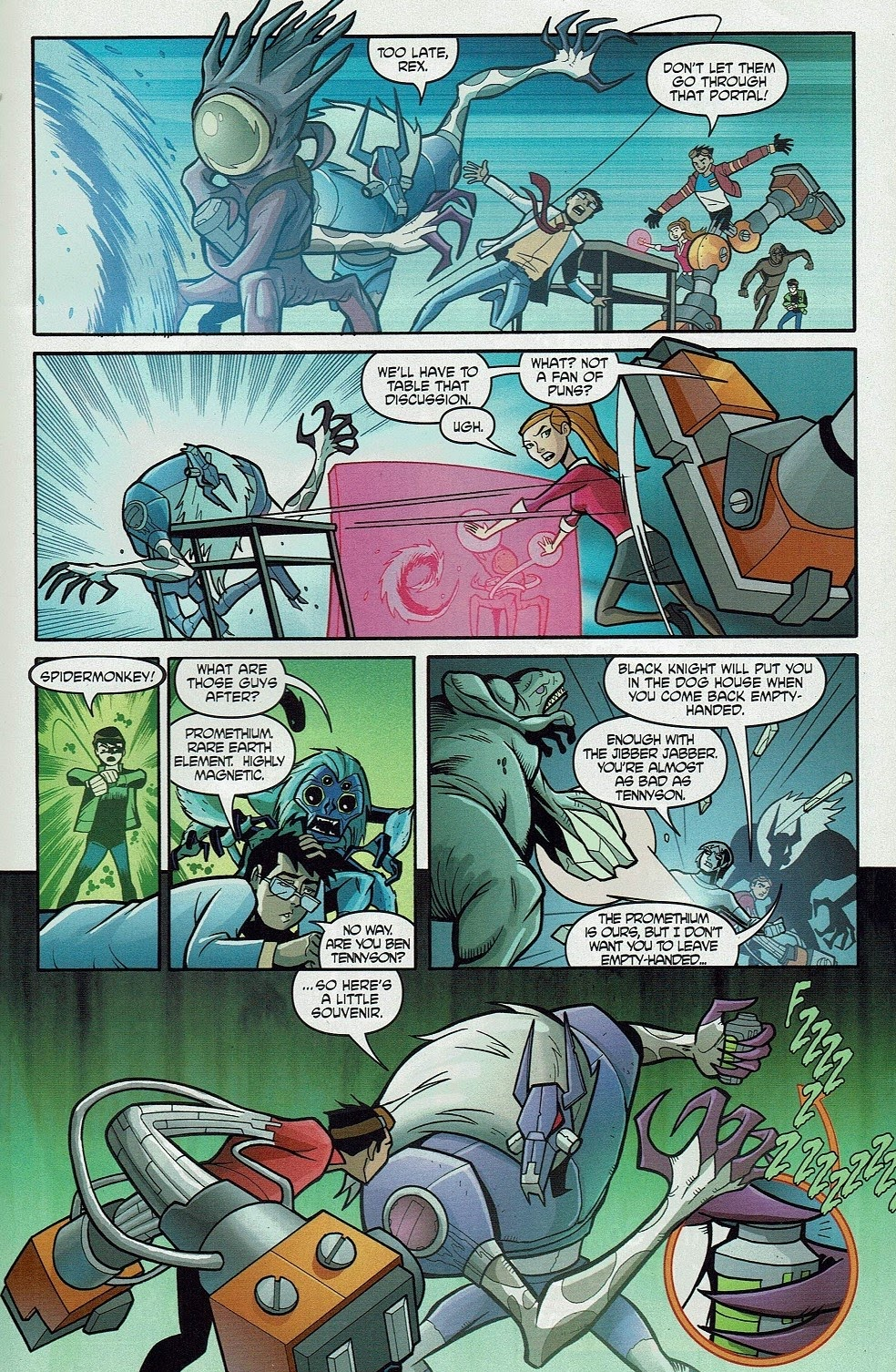 Read online Cartoon Network Action Pack comic -  Issue #65 - 21