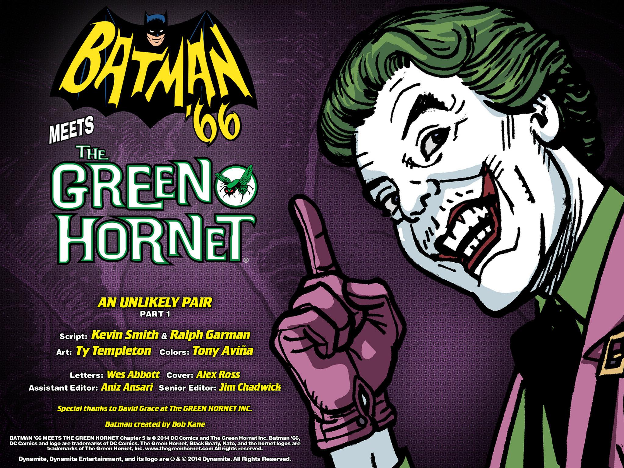 Read online Batman '66 Meets the Green Hornet [II] comic -  Issue #5 - 100