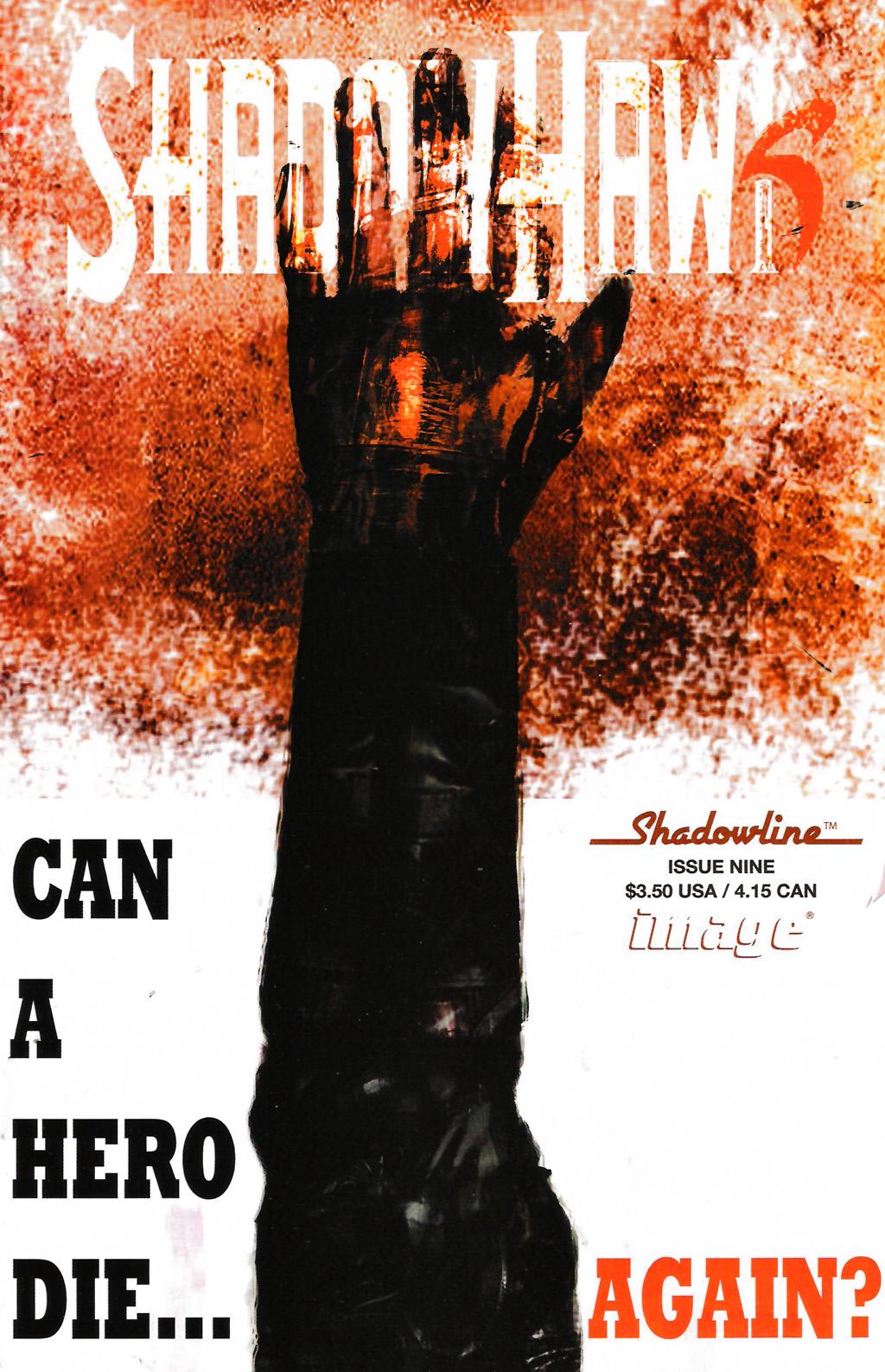 Read online ShadowHawk (2005) comic -  Issue #9 - 1