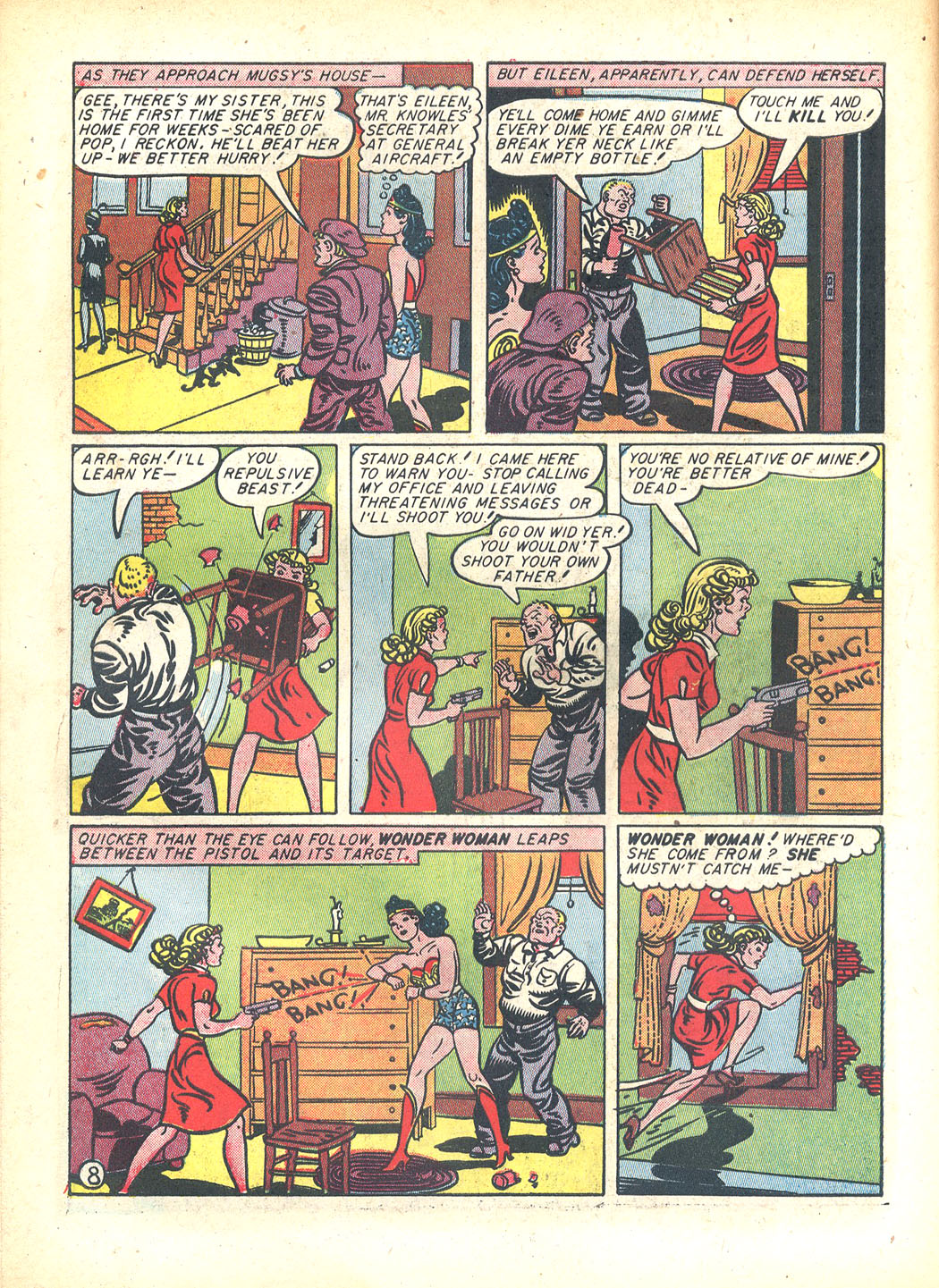 Read online Sensation (Mystery) Comics comic -  Issue #23 - 10