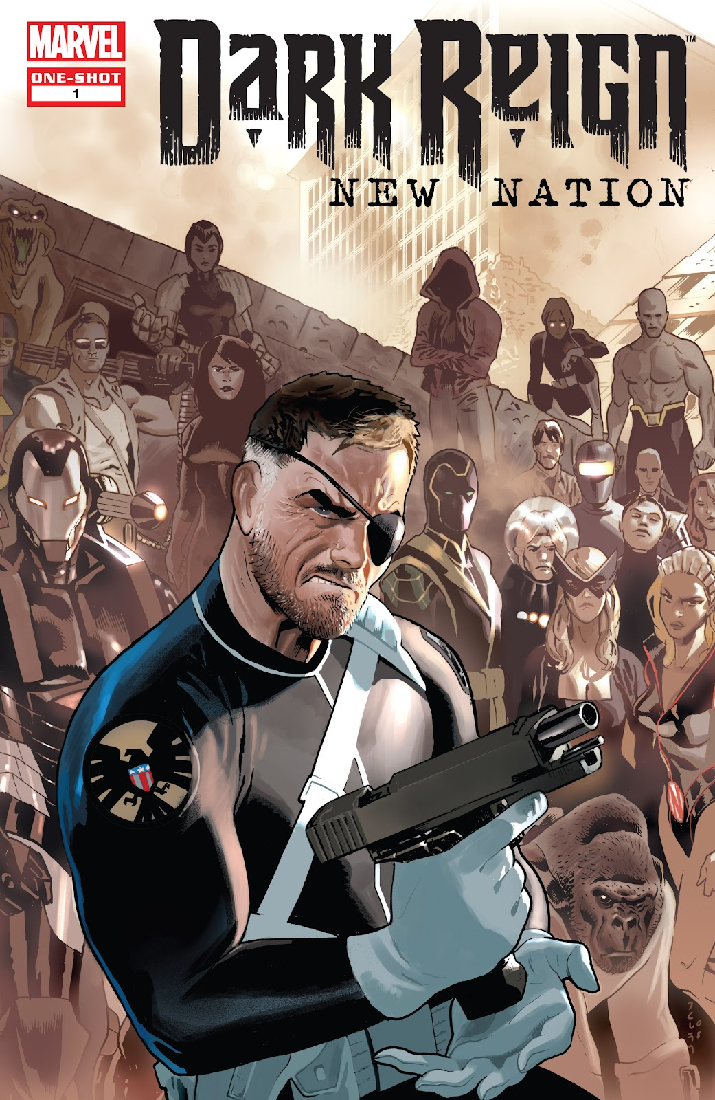 Dark Reign: New Nation issue Full - Page 1