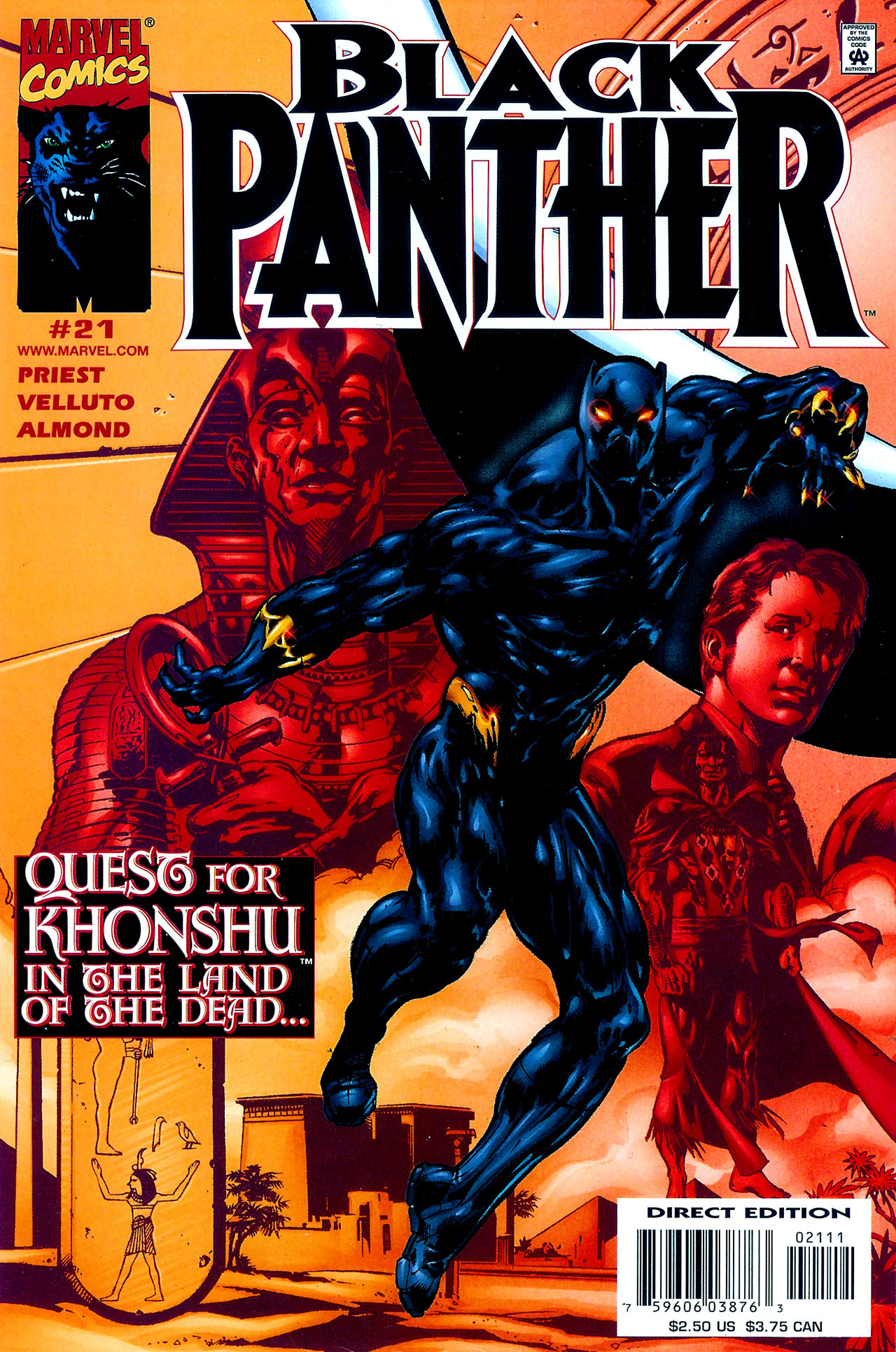 Black Panther (1998) 21 Page 1