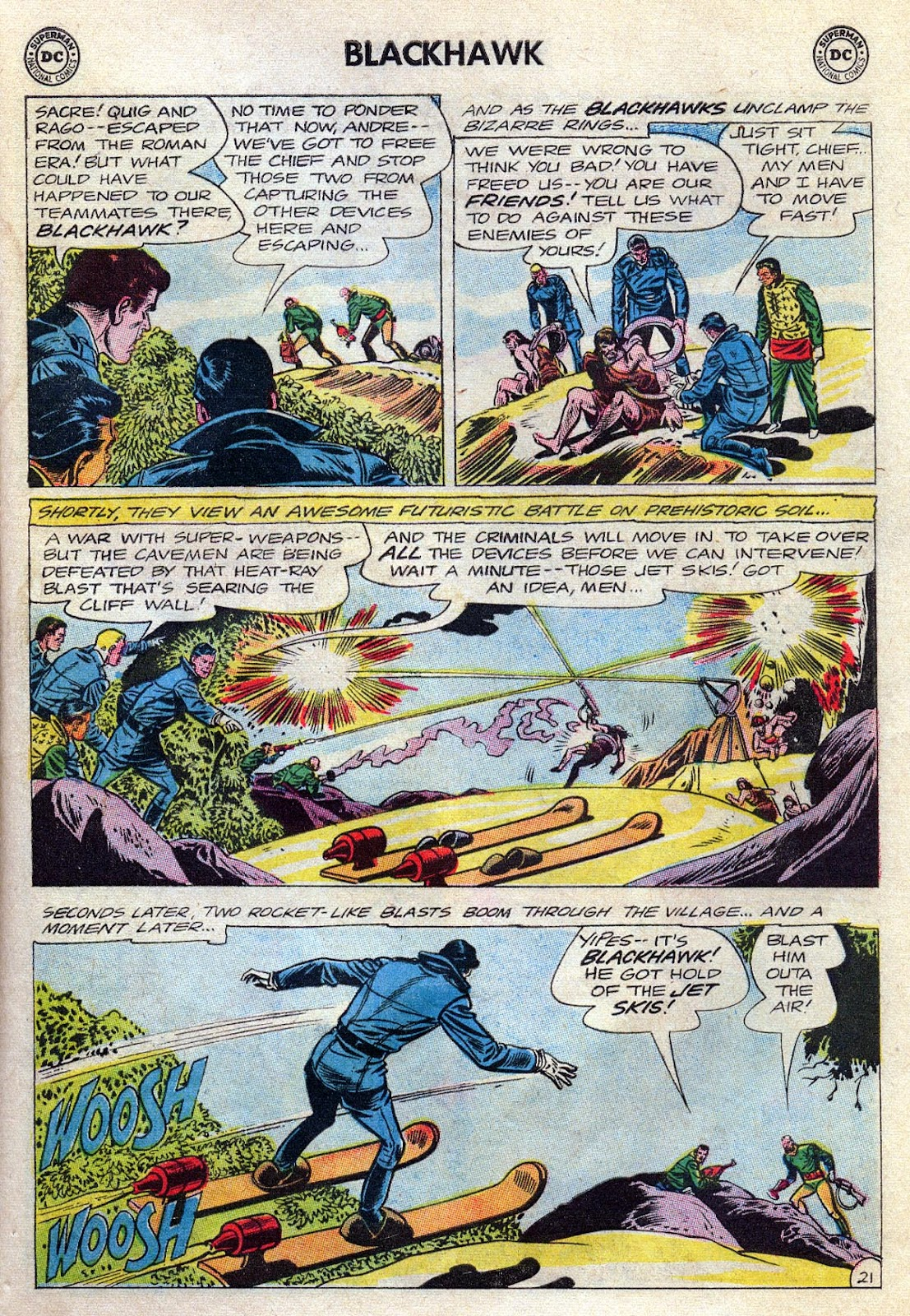 Blackhawk (1957) Issue #189 #82 - English 27