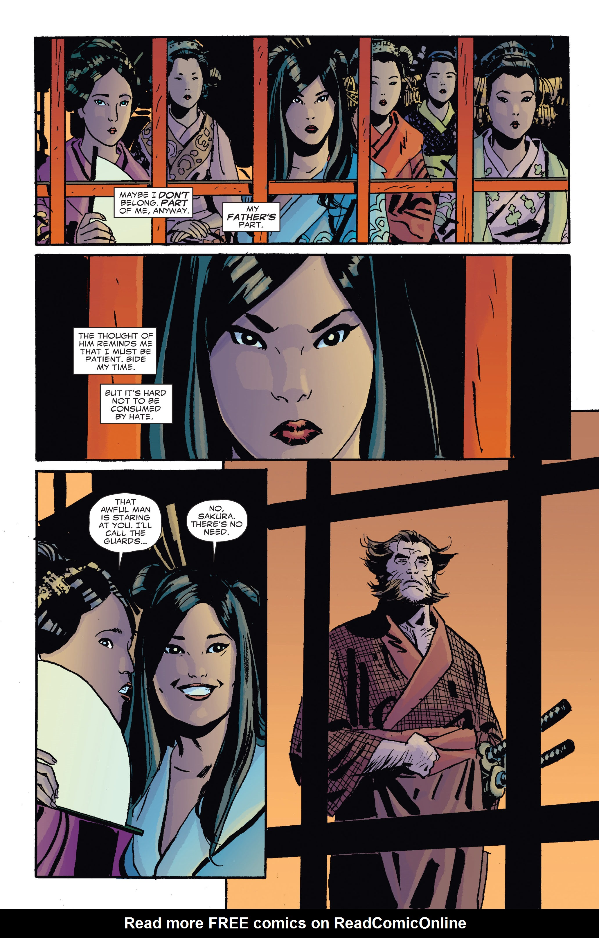 Read online 5 Ronin (2011) comic -  Issue #4 - 10