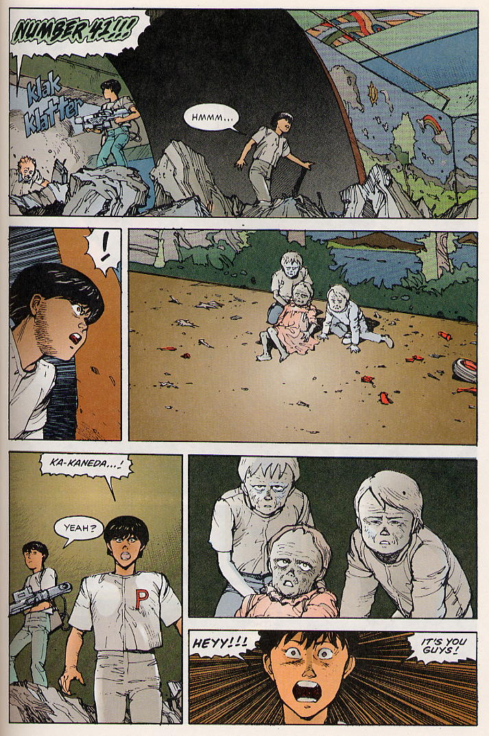 Read online Akira comic -  Issue #8 - 63