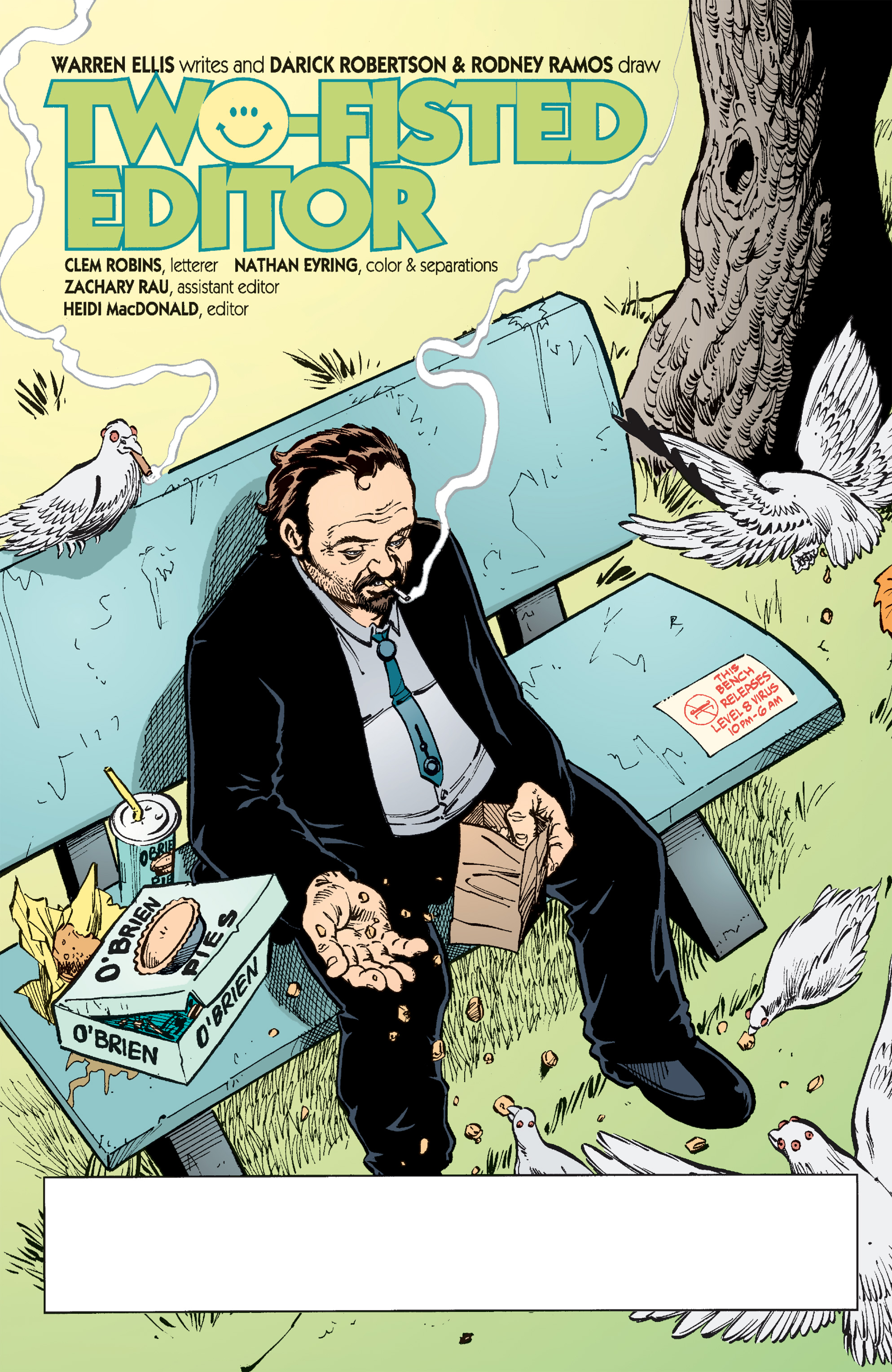 Read online Transmetropolitan comic -  Issue #51 - 2