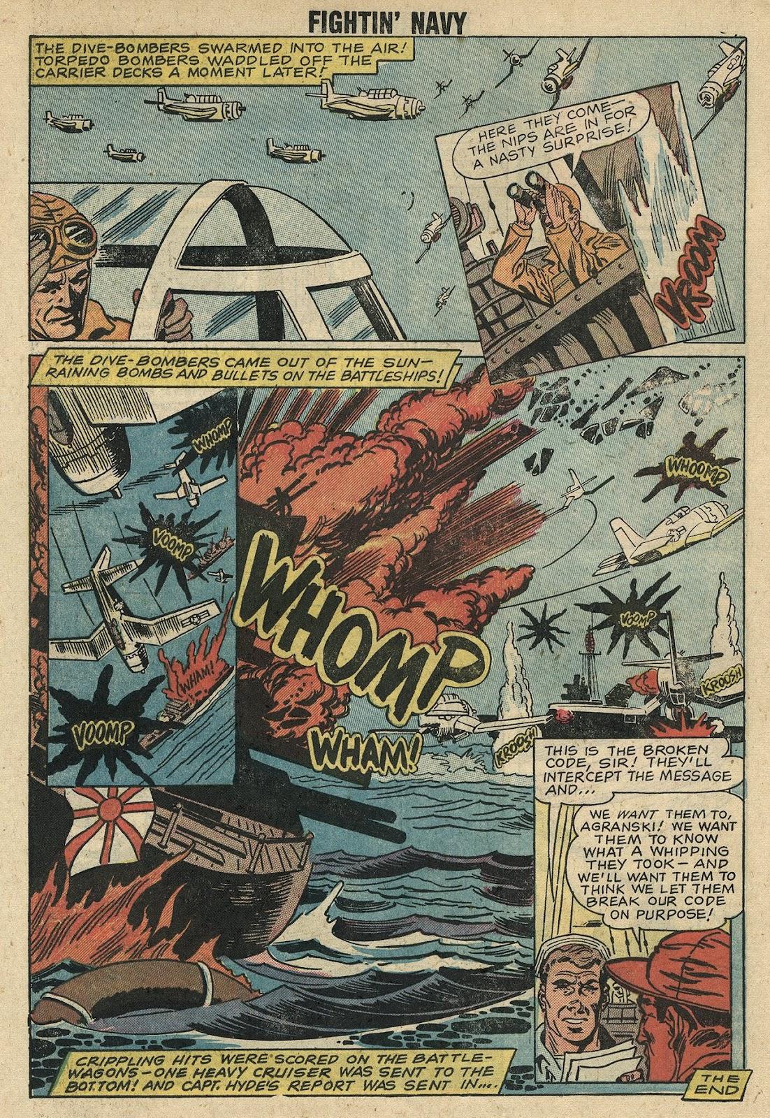 Read online Fightin' Navy comic -  Issue #86 - 25