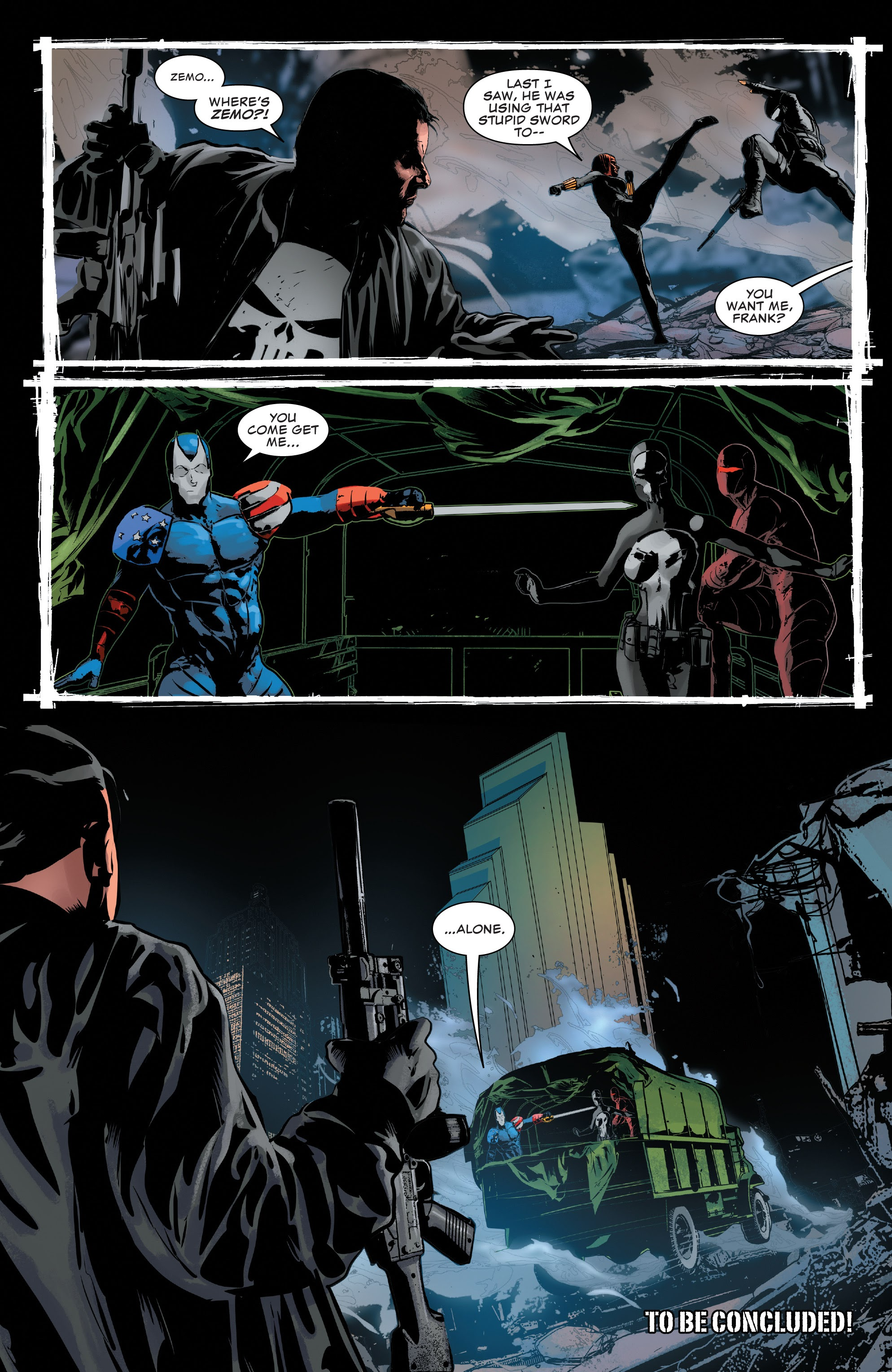 Read online The Punisher (2018) comic -  Issue #15 - 22