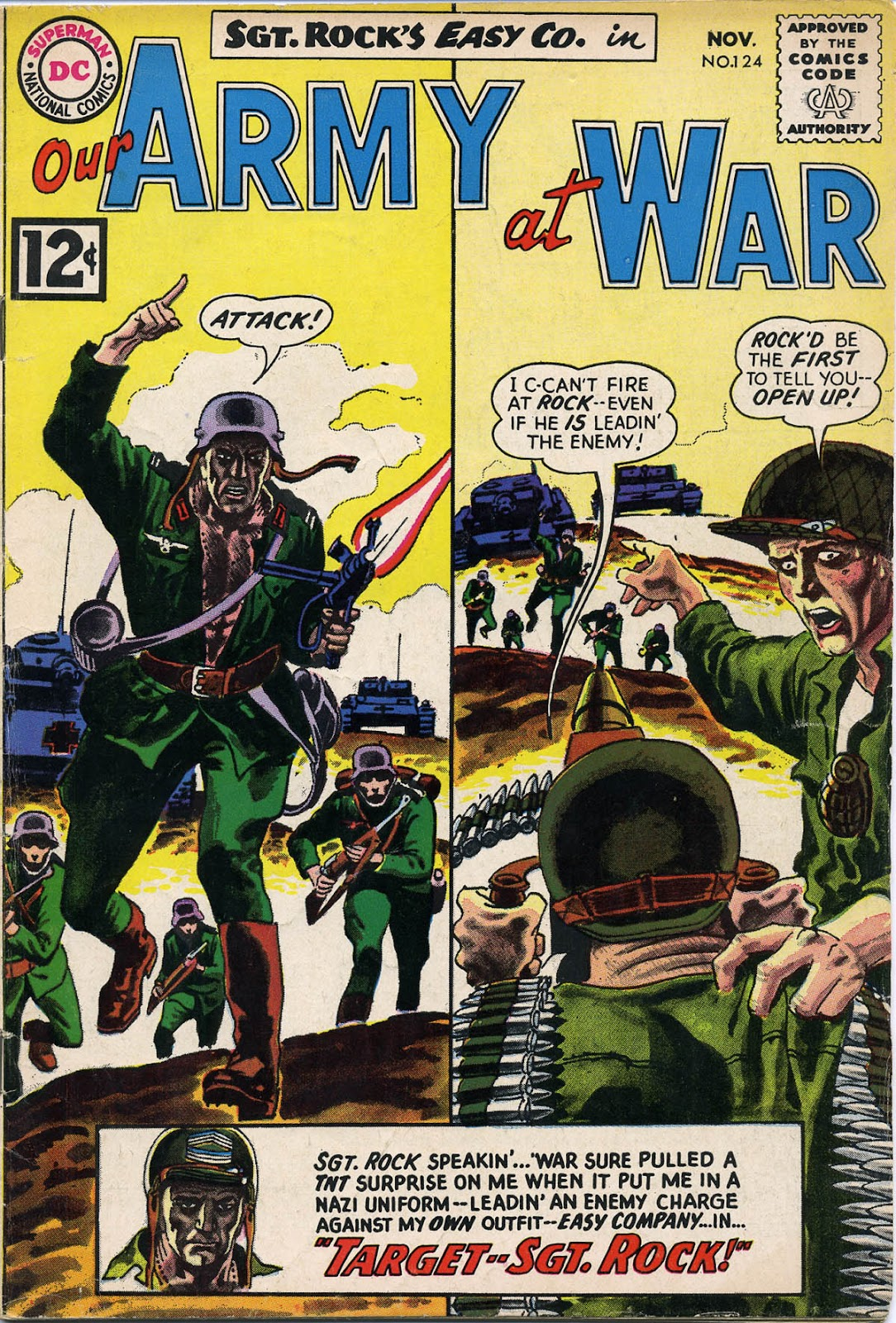Our Army at War (1952) issue 124 - Page 1