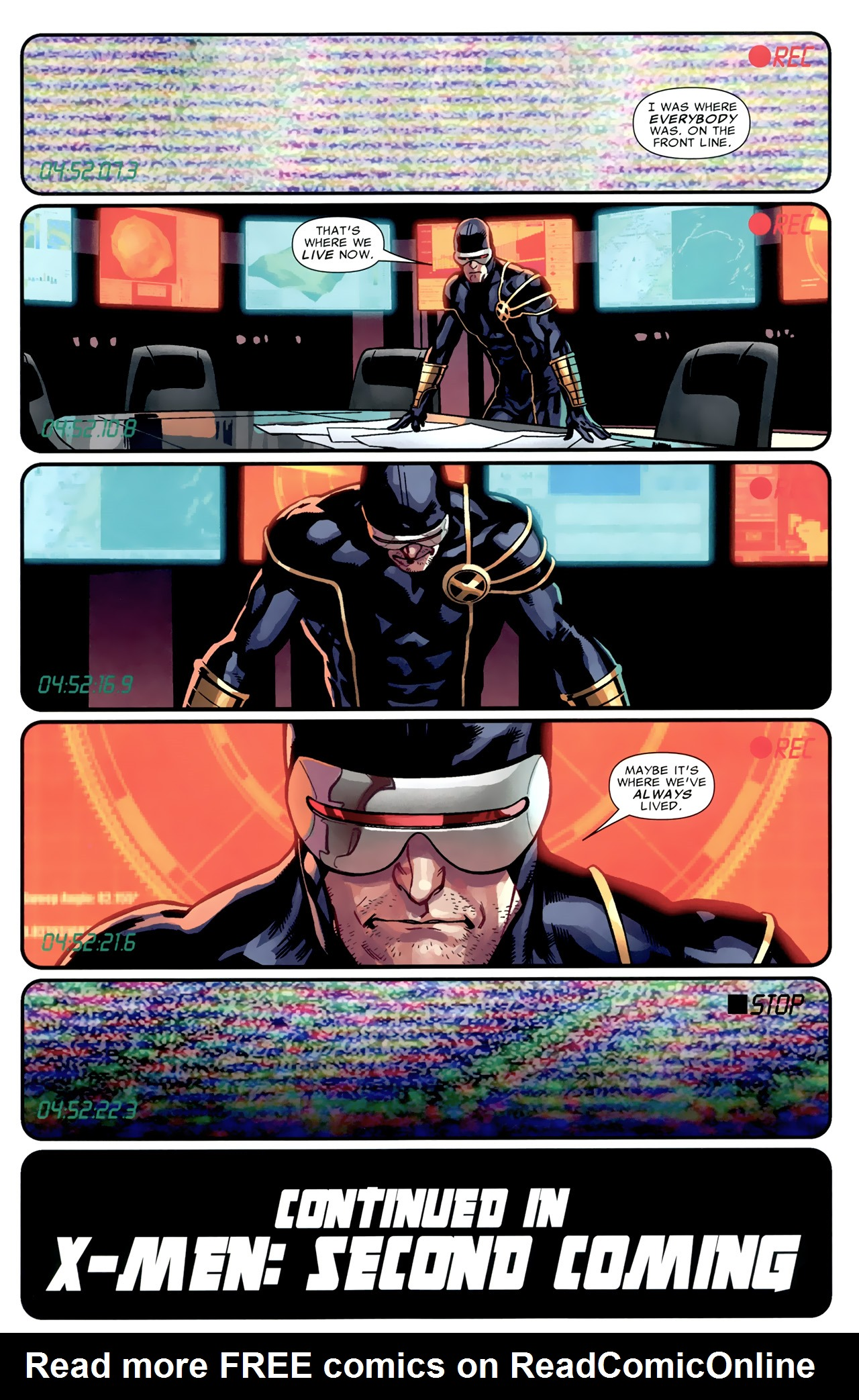 Read online Second Coming: Prepare comic -  Issue # Full - 9