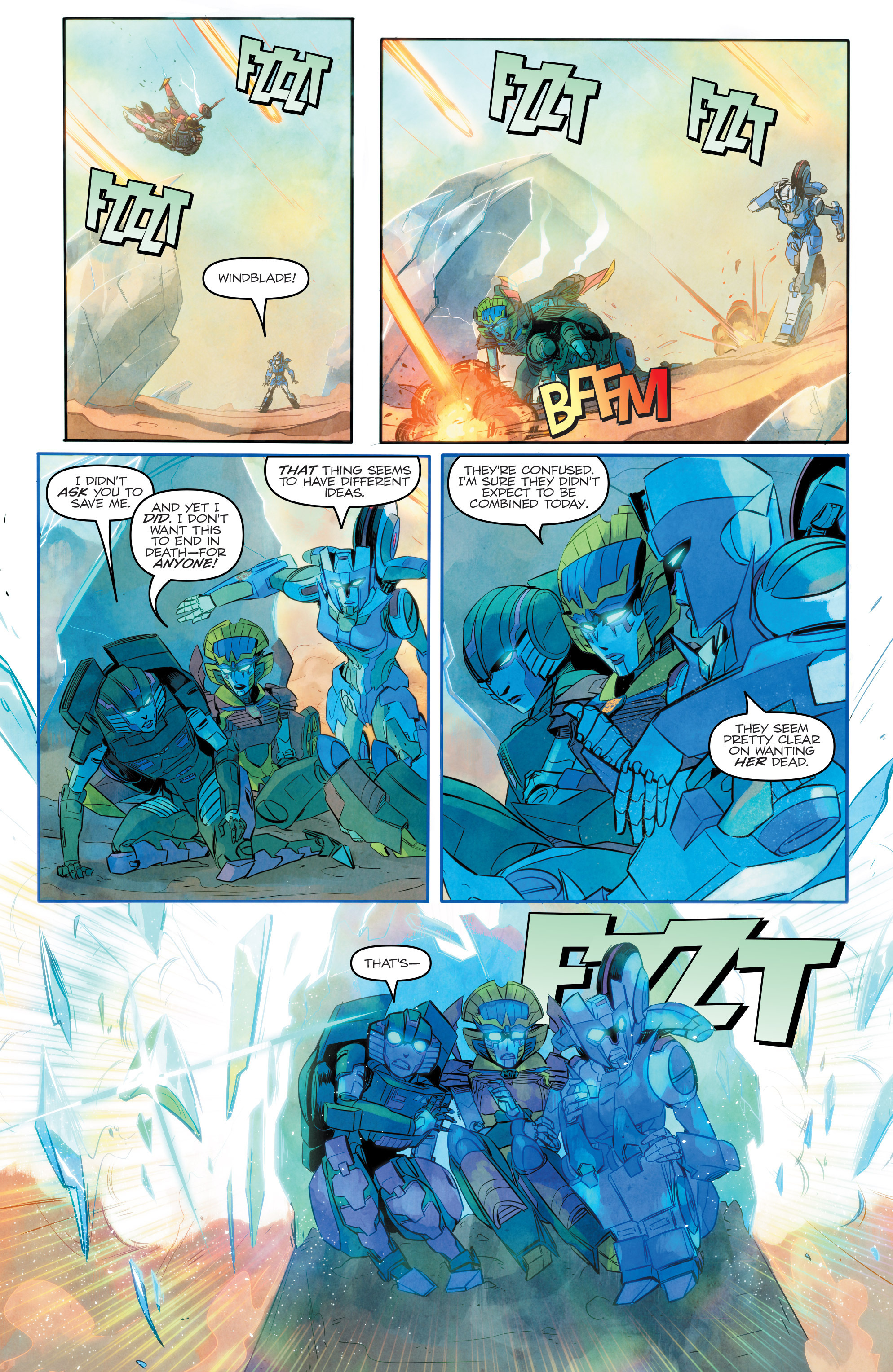 Read online Transformers: Combiner Hunters comic -  Issue # Full - 17