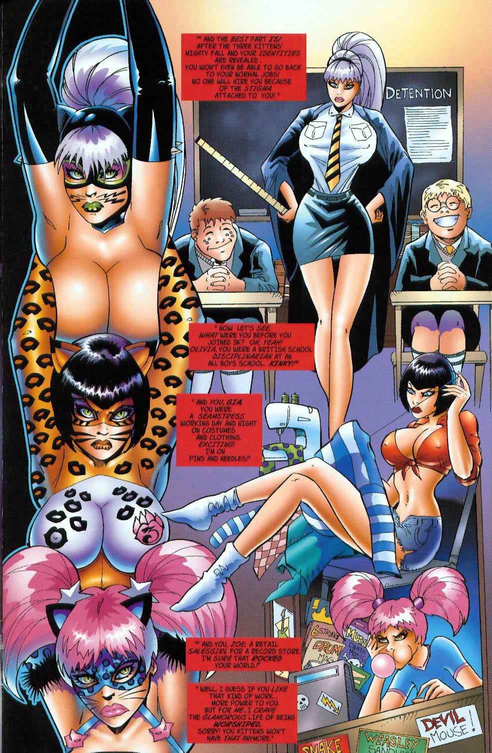 Read online 3 Little Kittens: Purrr-fect Weapons comic -  Issue #3 - 7
