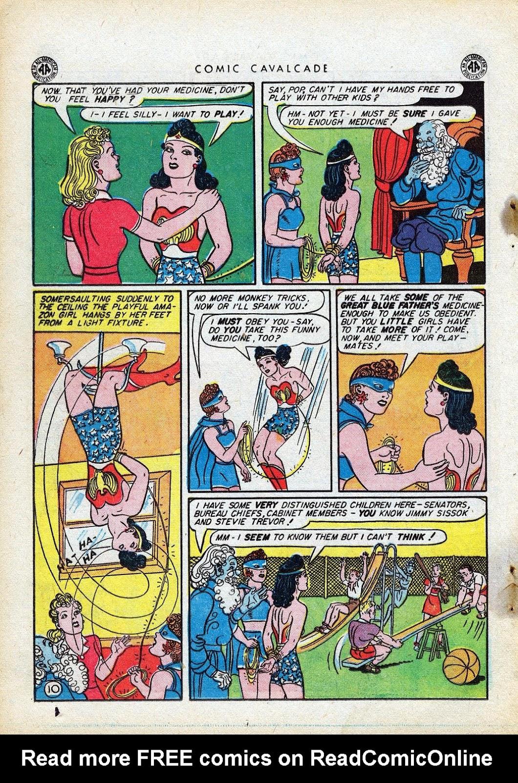 Comic Cavalcade issue 10 - Page 12