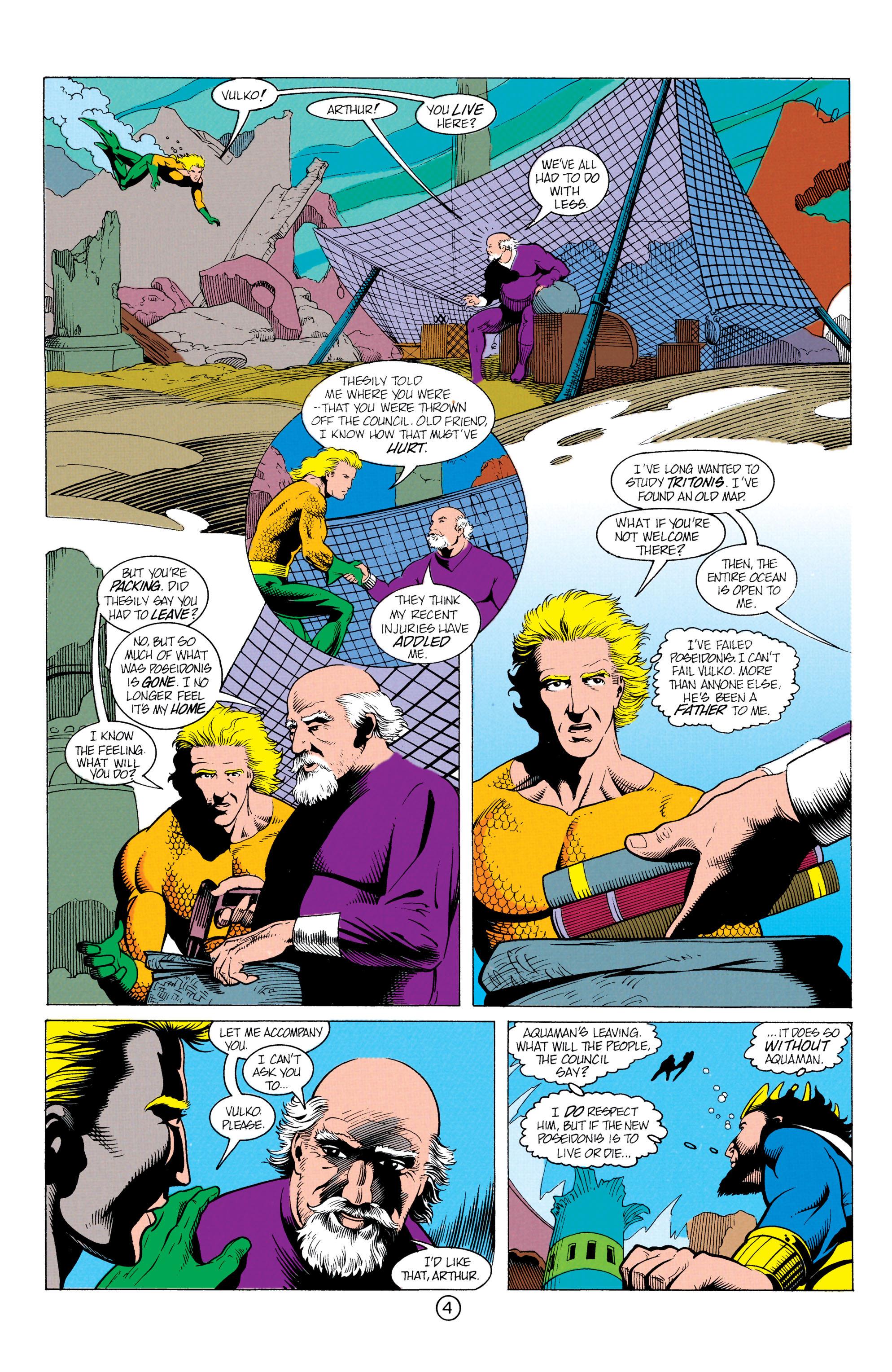 Read online Aquaman (1991) comic -  Issue #12 - 5