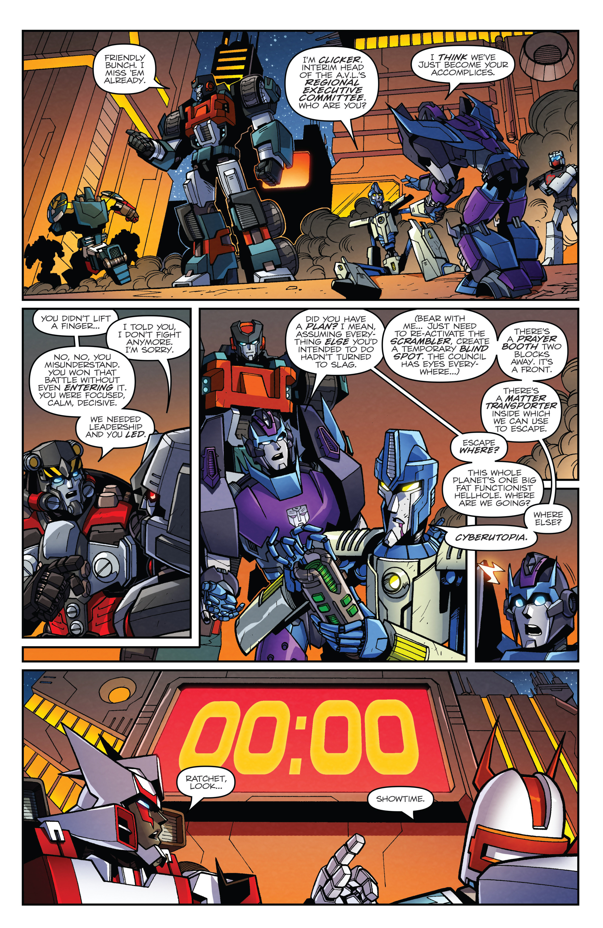 Read online Transformers: Lost Light comic -  Issue #2 - 21