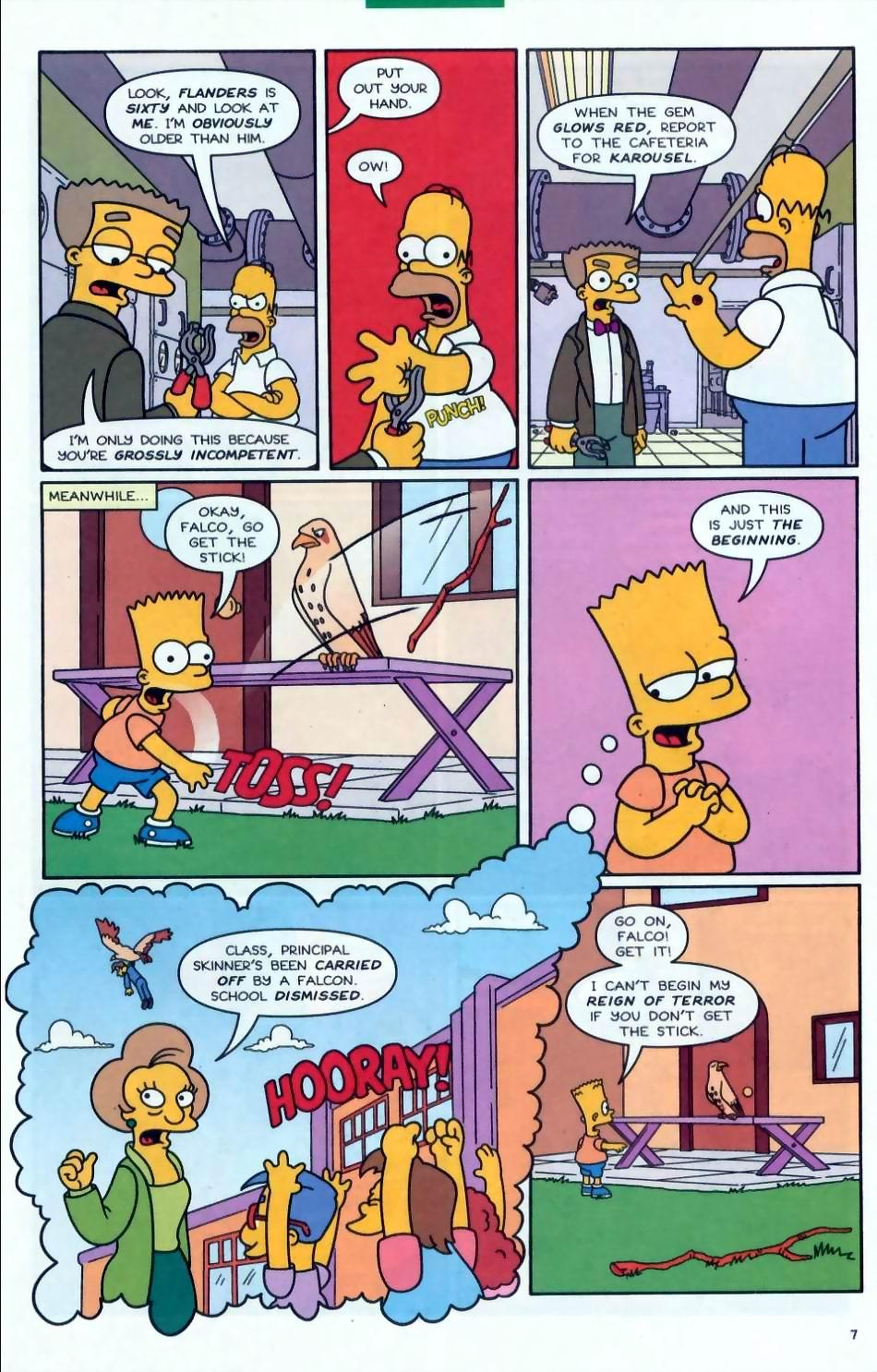 Read online Simpsons Comics comic -  Issue #72 - 8