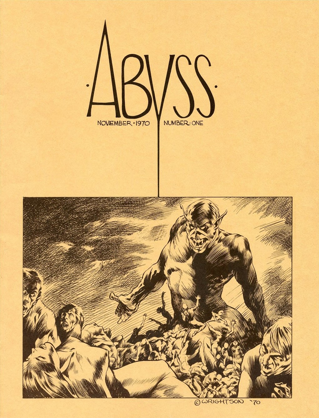 Abyss (1970) issue Full - Page 1