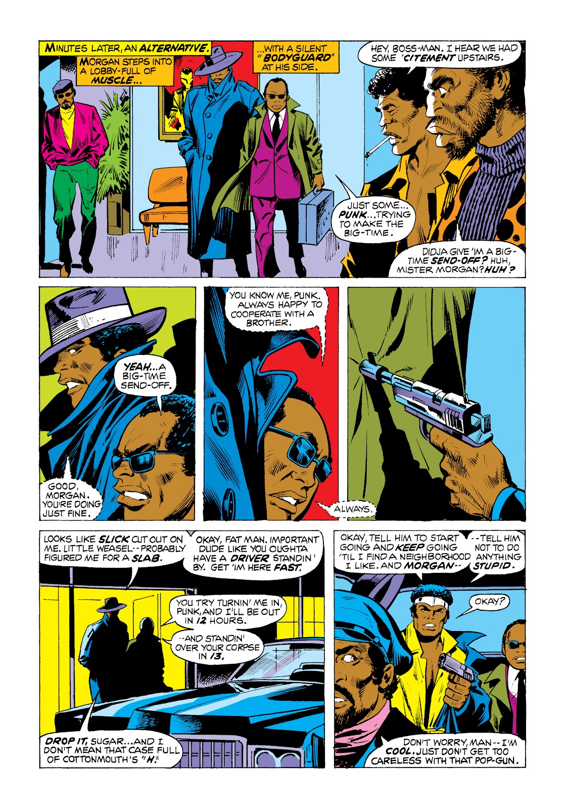 Read online Marvel Masterworks: Luke Cage, Power Man comic -  Issue # TPB 2 (Part 1) - 75