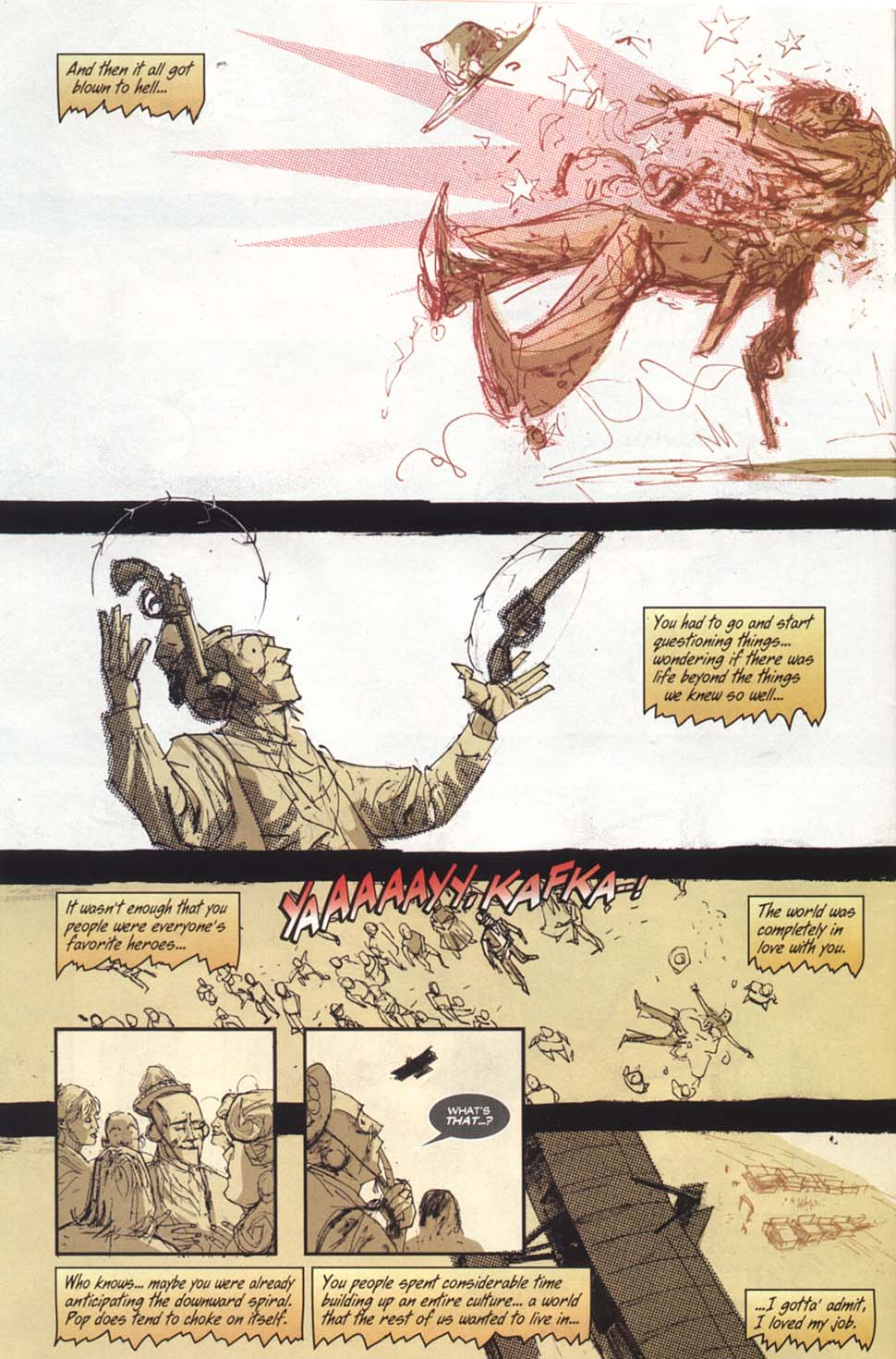 Read online Automatic Kafka comic -  Issue #8 - 5
