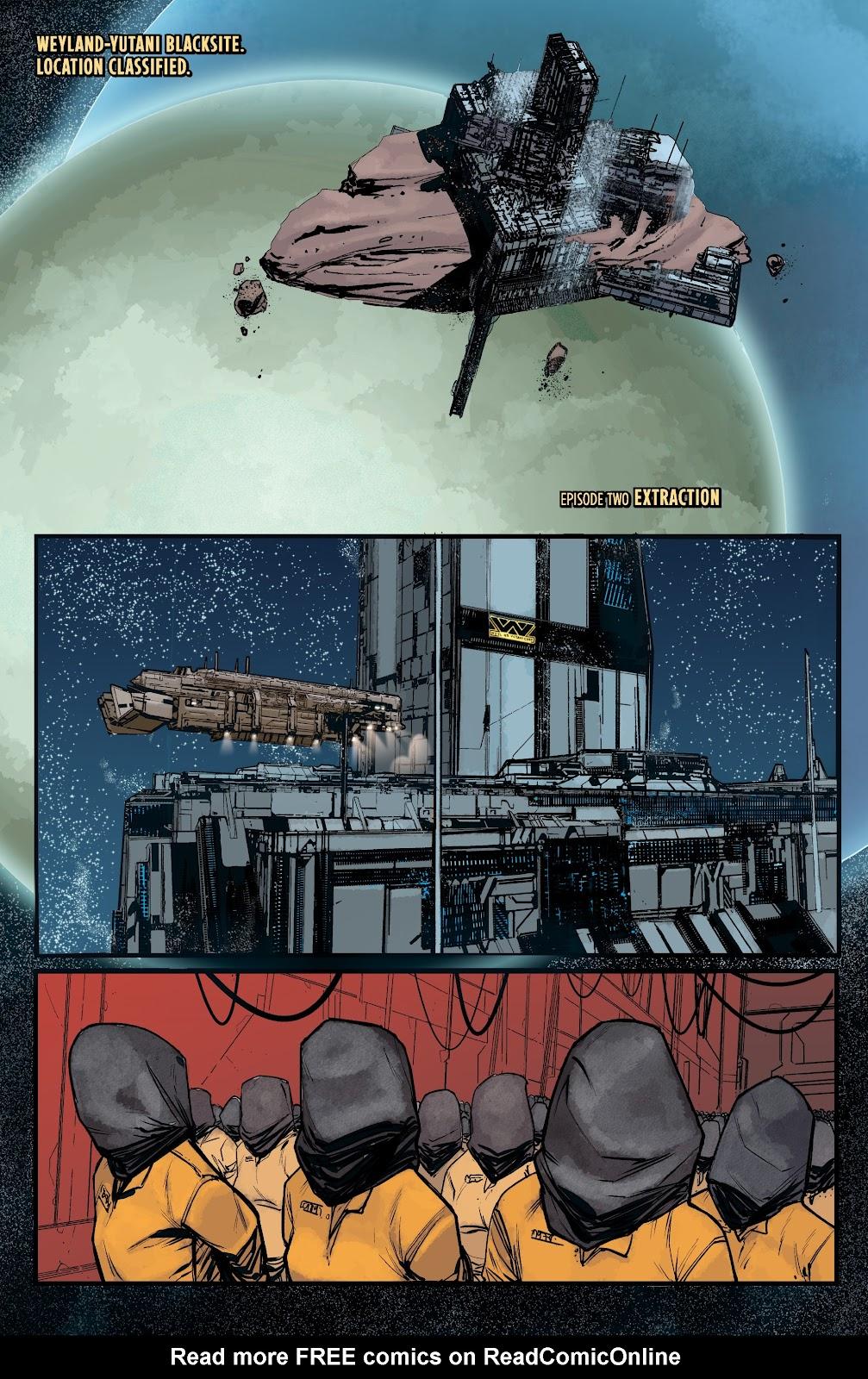 Read online Aliens: Resistance comic -  Issue #2 - 3