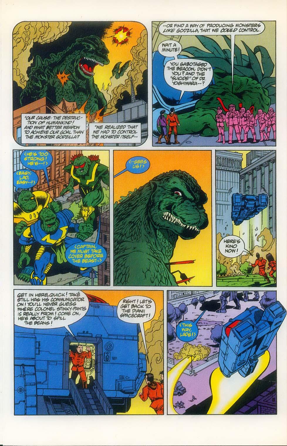 Godzilla (1995) Issue #8 #9 - English 8