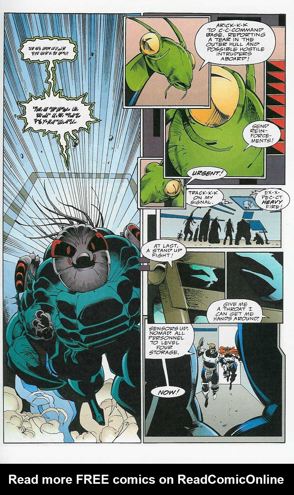Alien Legion: On the Edge issue 2 - Page 20