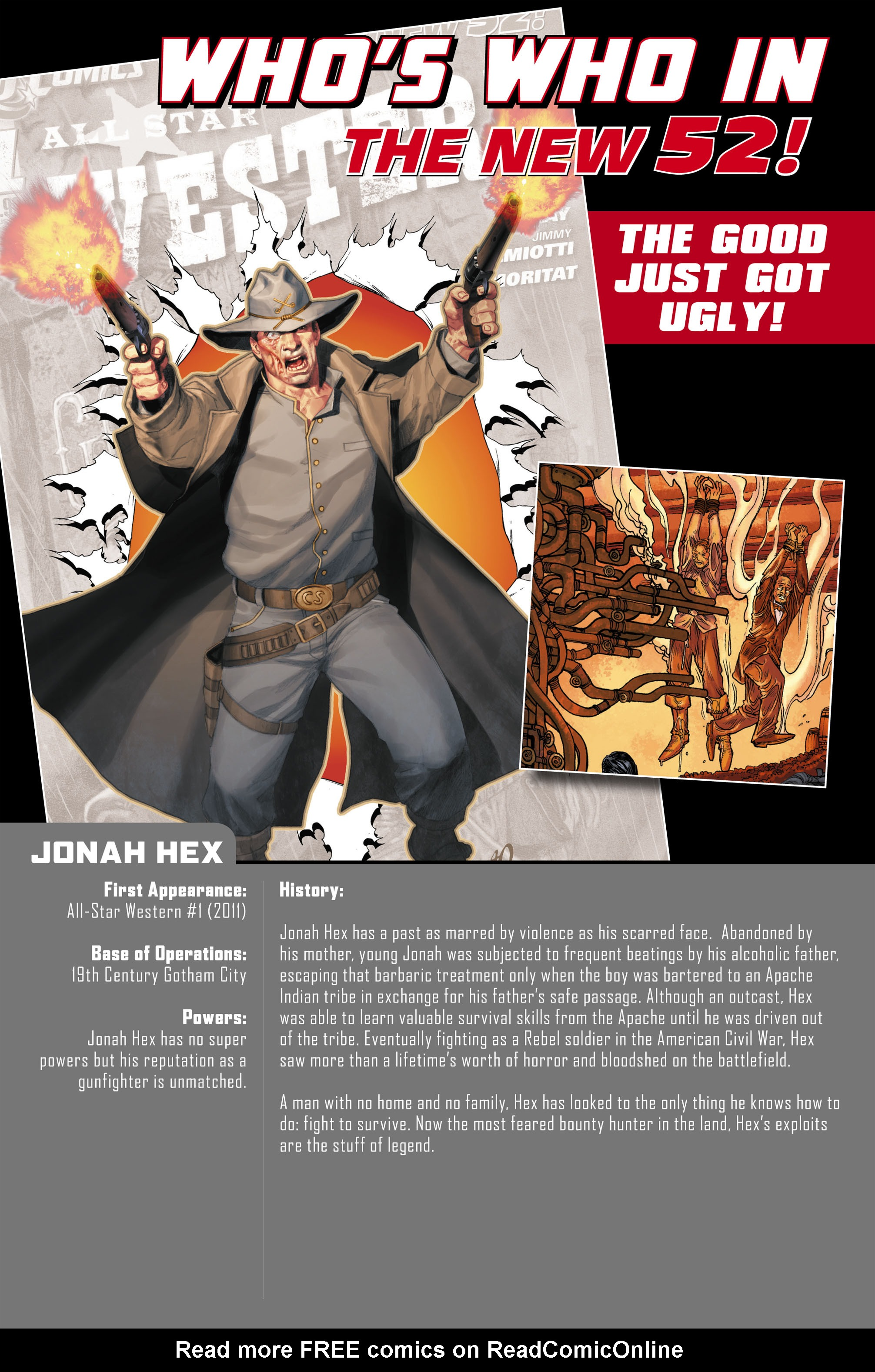 Read online All-Star Western (2011) comic -  Issue #0 - 32