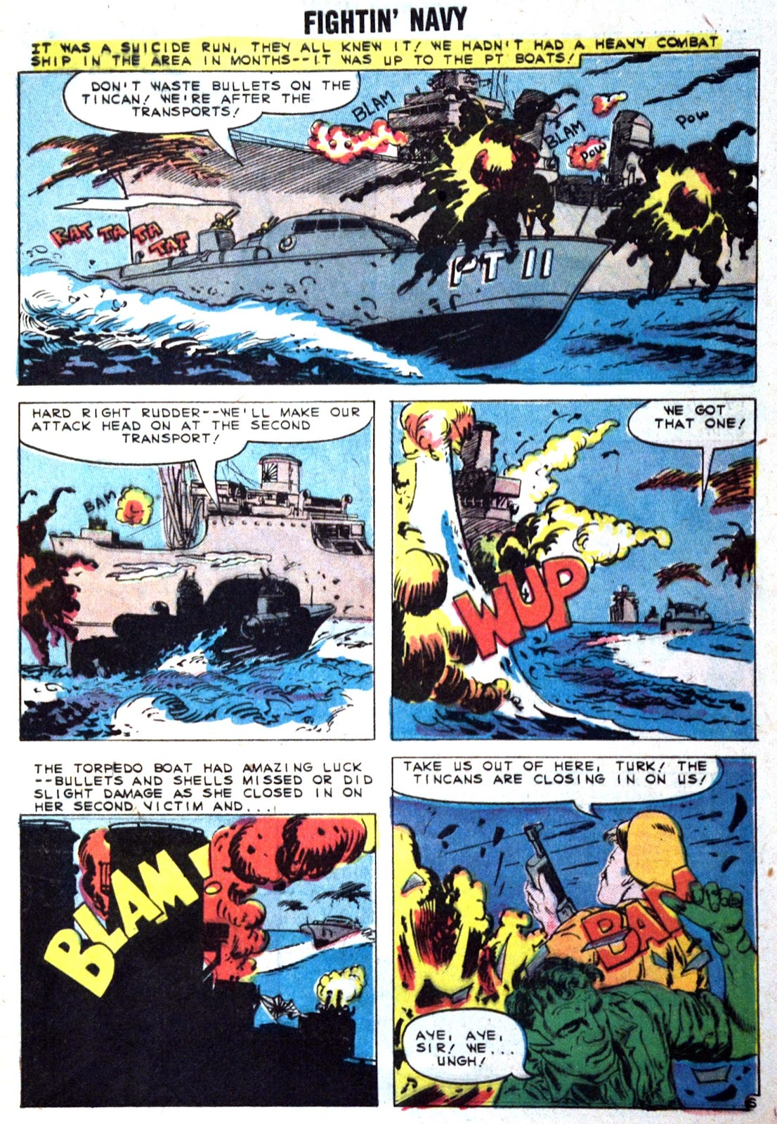 Read online Fightin' Navy comic -  Issue #89 - 9